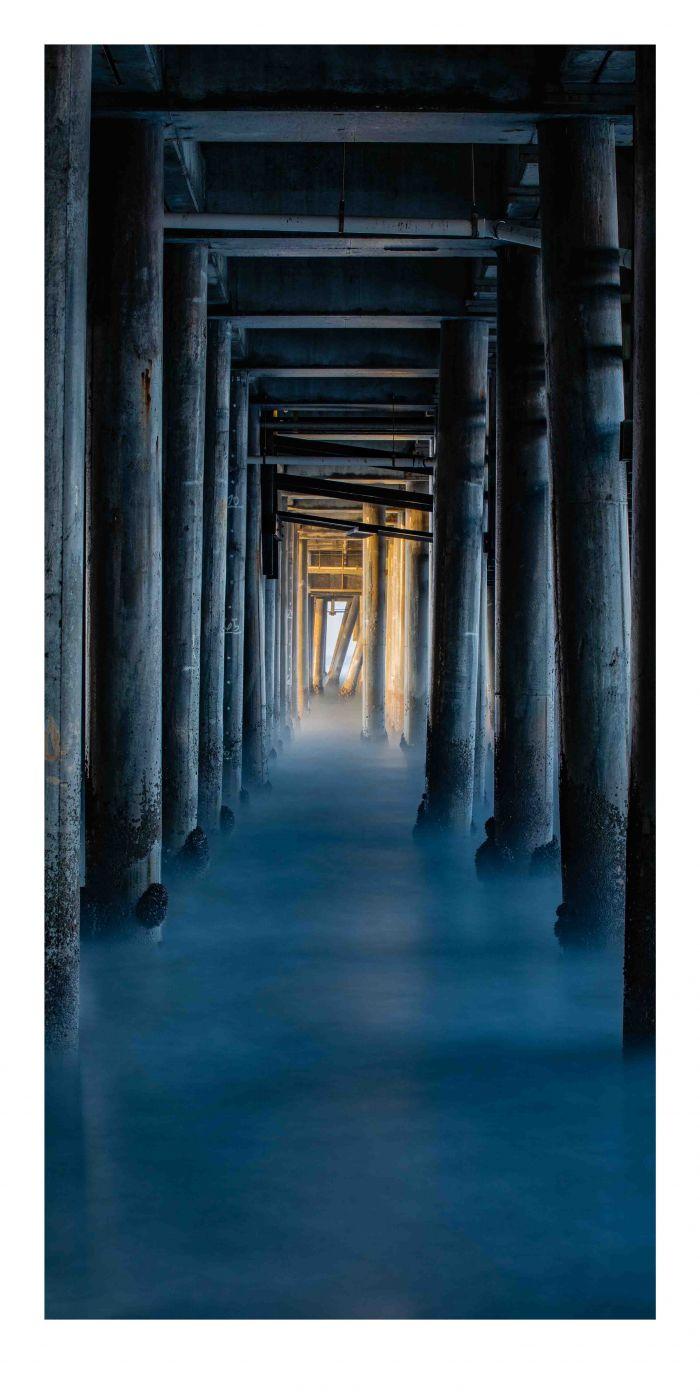 Under Santa Monica Pier, USA