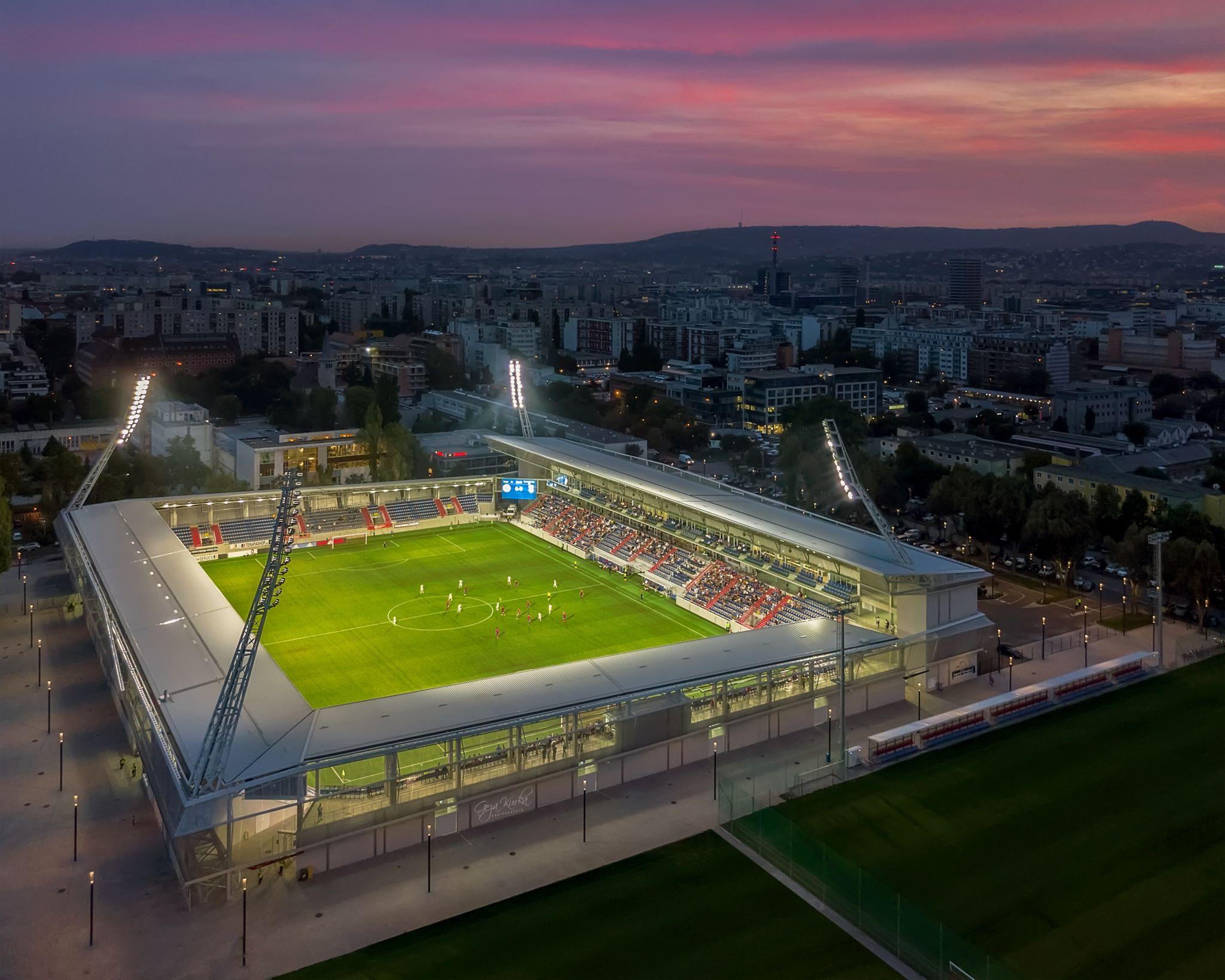 Vasas SC stadium, Hungary
