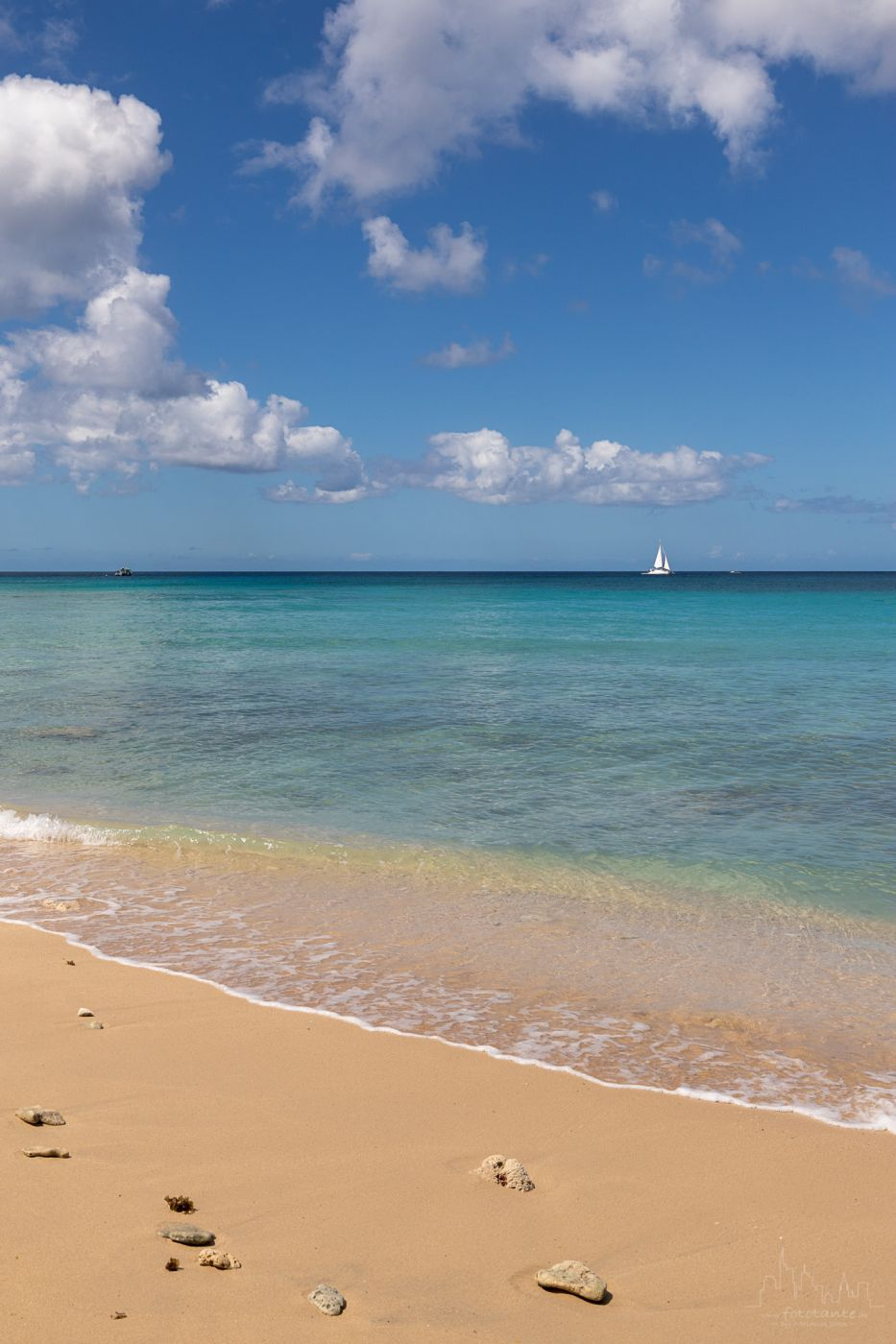 View from Gibbs Beach, Barbados
