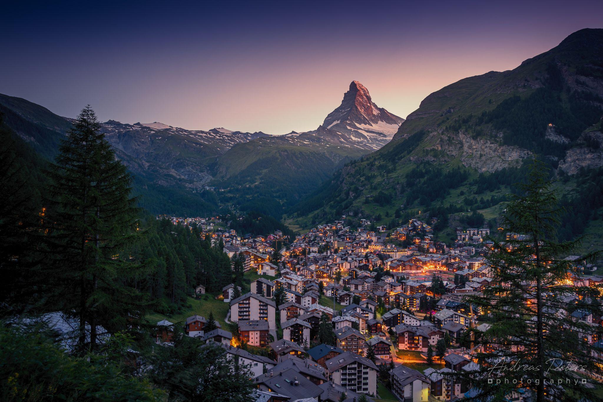 Zermatt Panorama (Gourmetweg), Switzerland