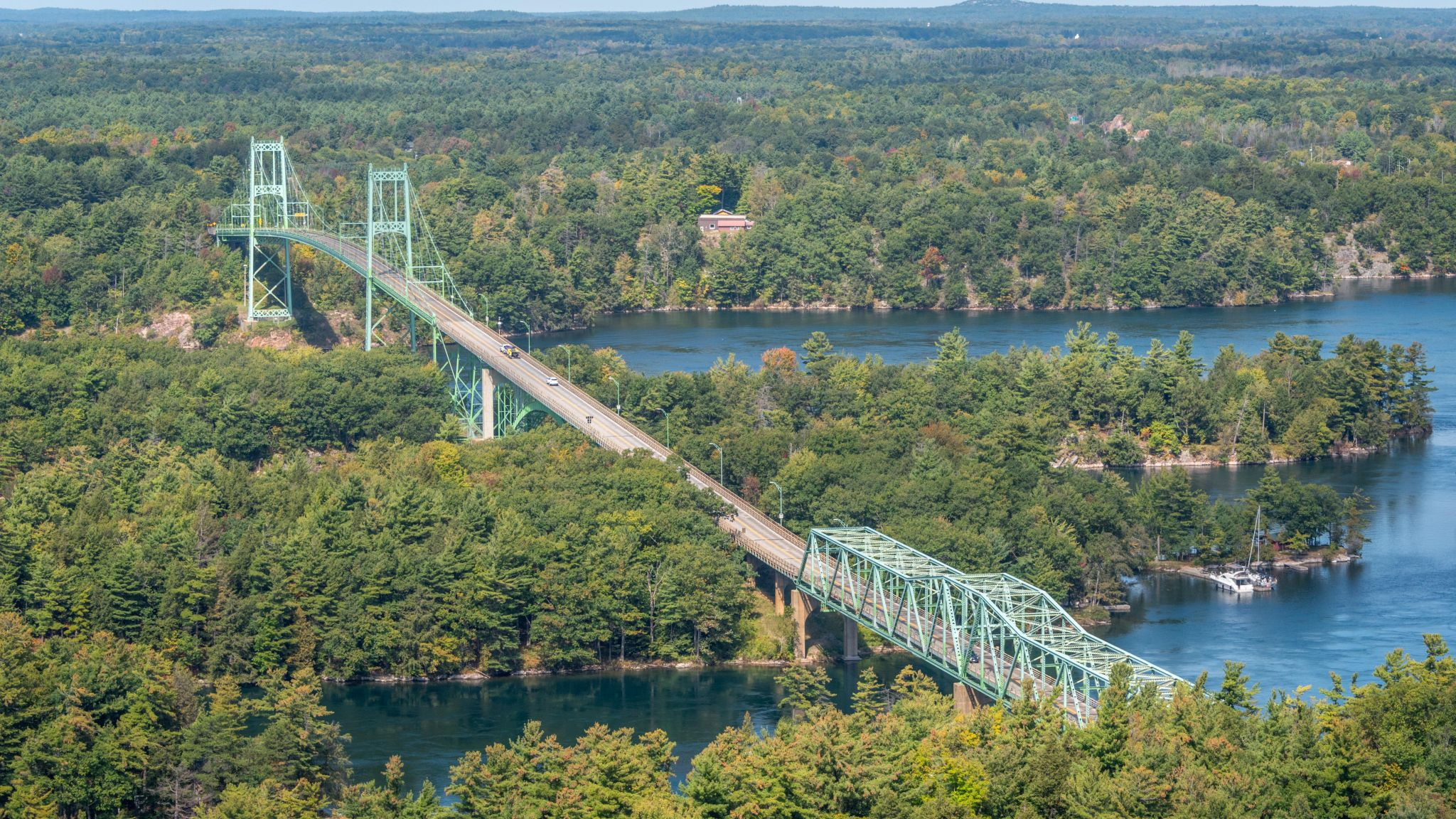 1000 Islands Observation Tower & 1000 Islands Parkway, Canada