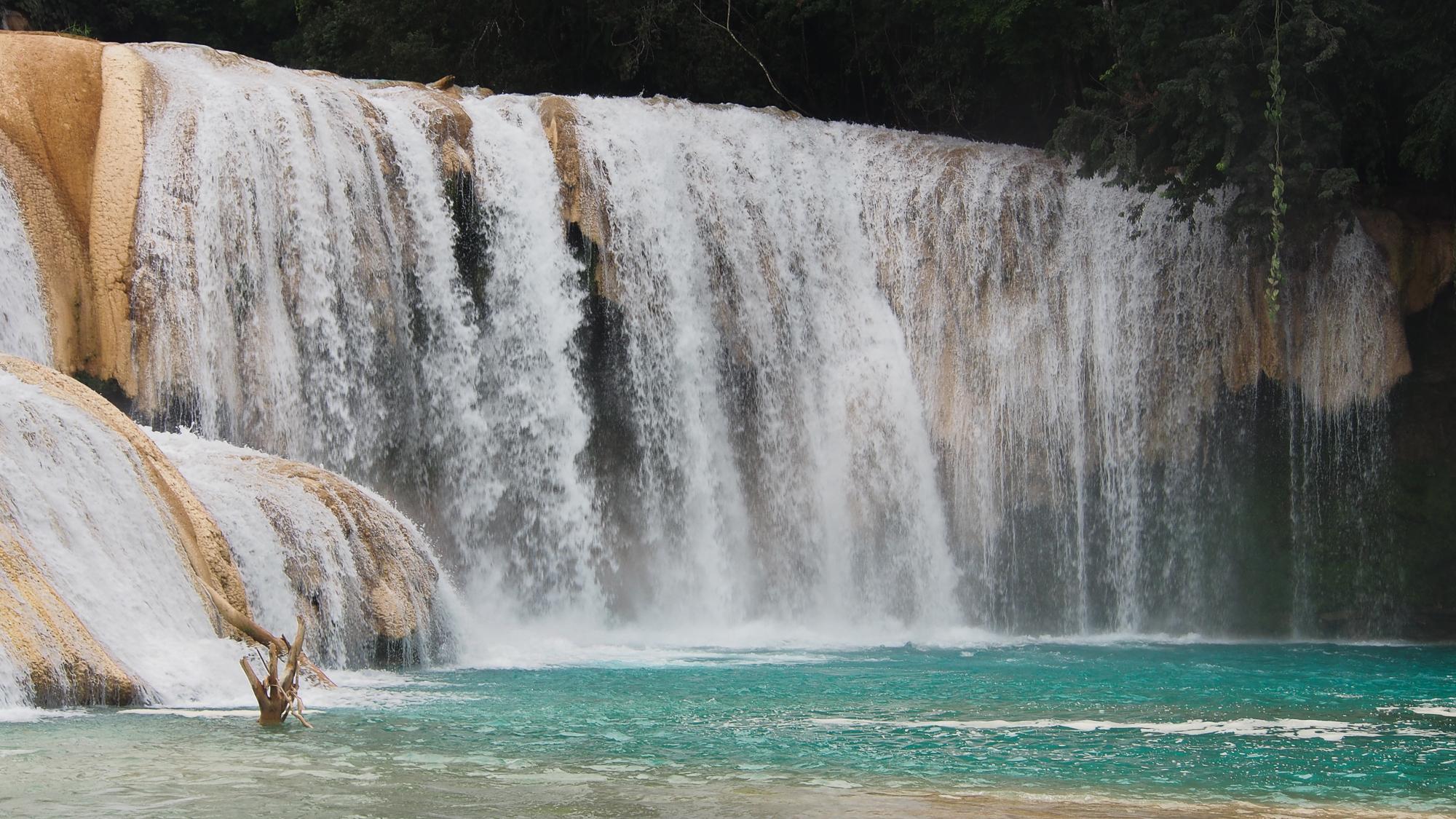 Agua azul Cascades, Mexico