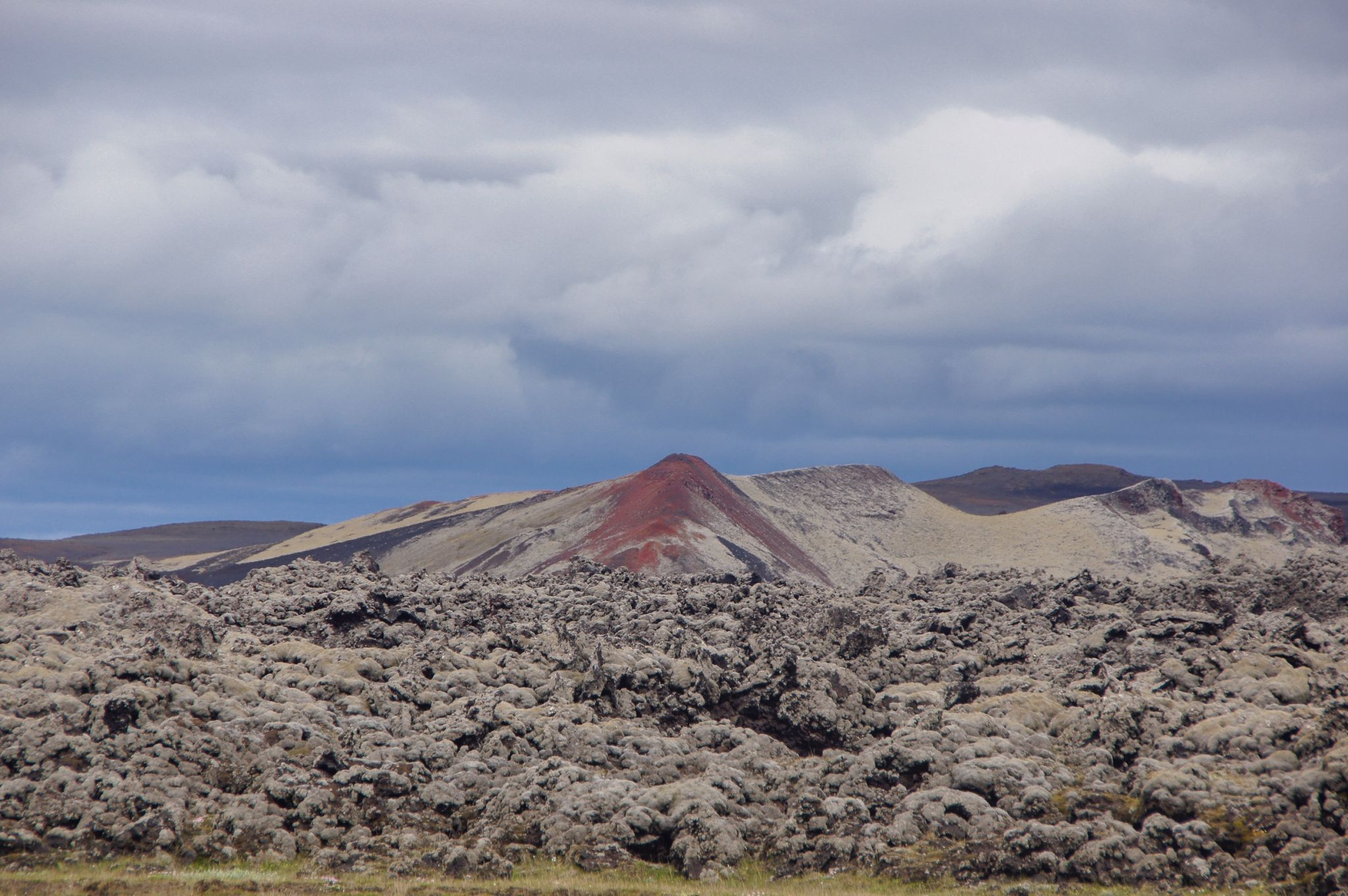 along Landmannaleid highland road, Iceland