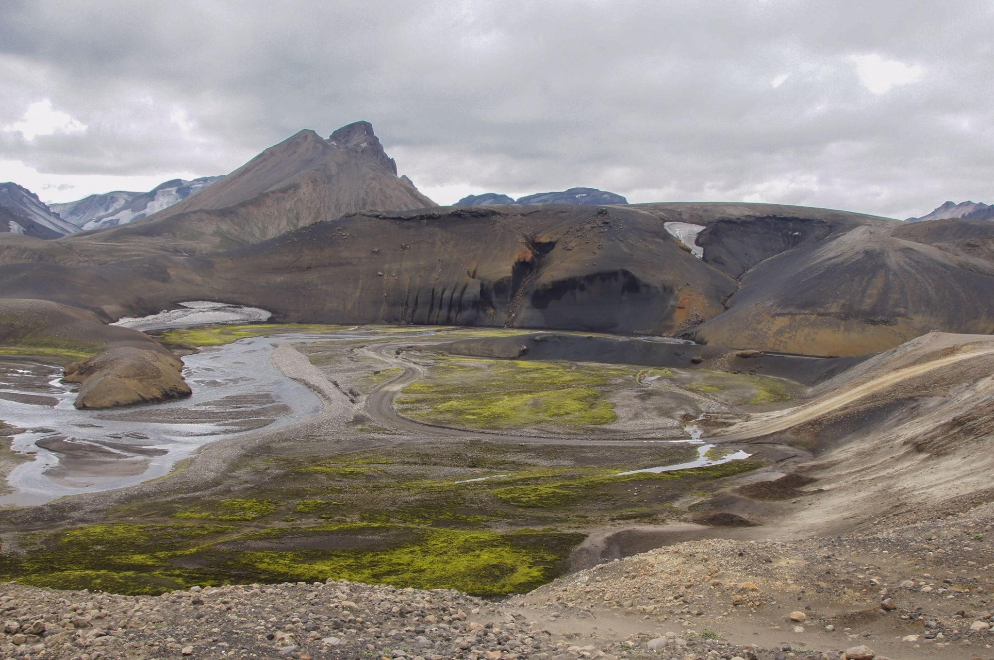 along the F208, Iceland
