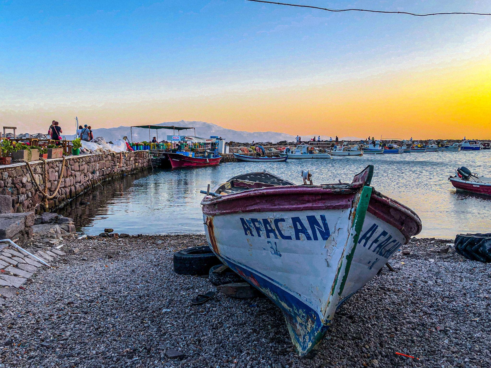 Antiques Port Assos, Turkey