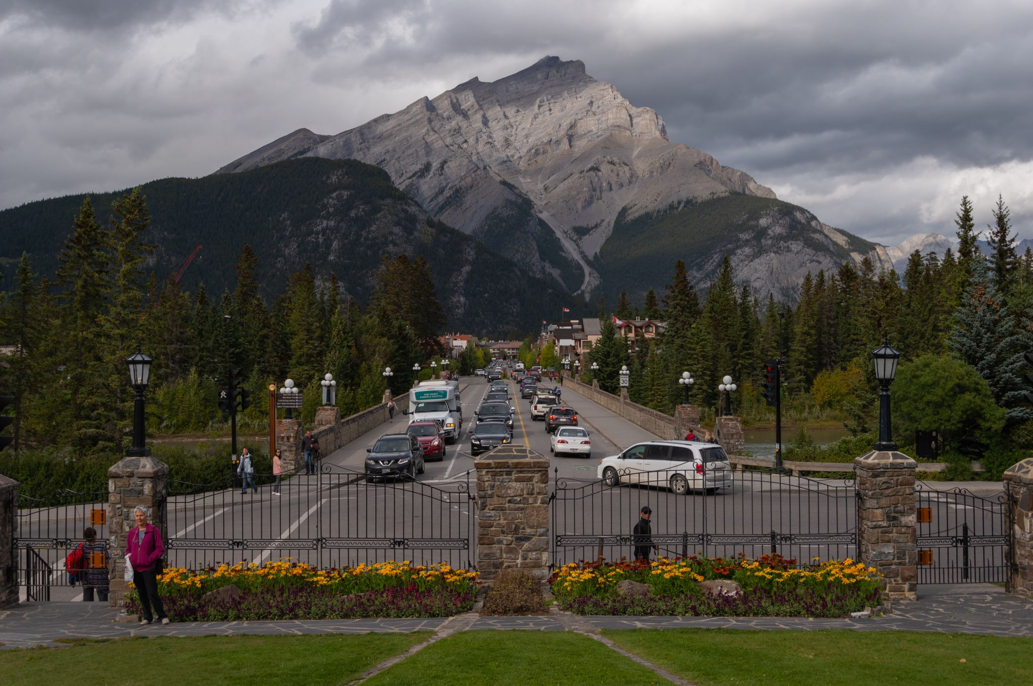 Banff National Park Administrative Building, Canada