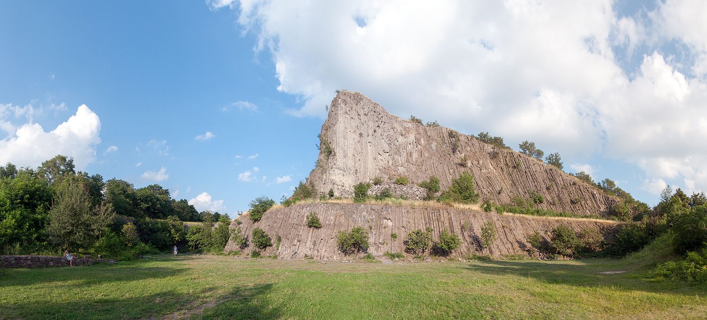 Basalt Volcano Cone at Lake Balaton, Hungary