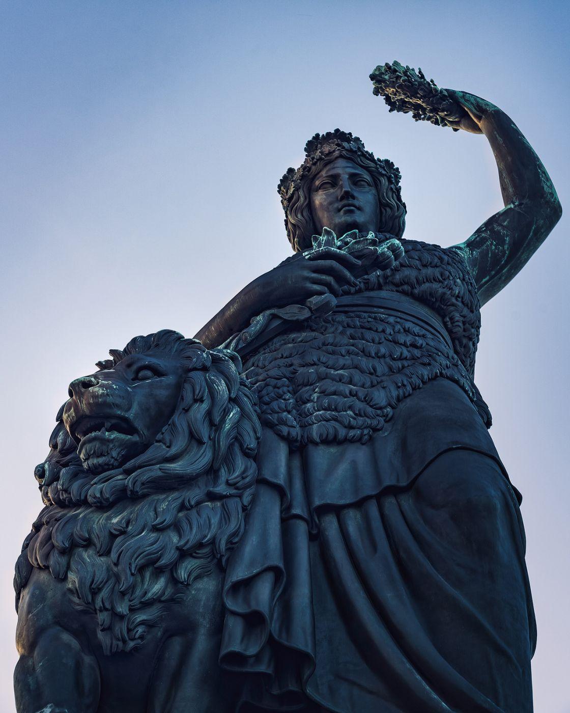 Bavaria (statue), Theresienwiese, Munich, Germany