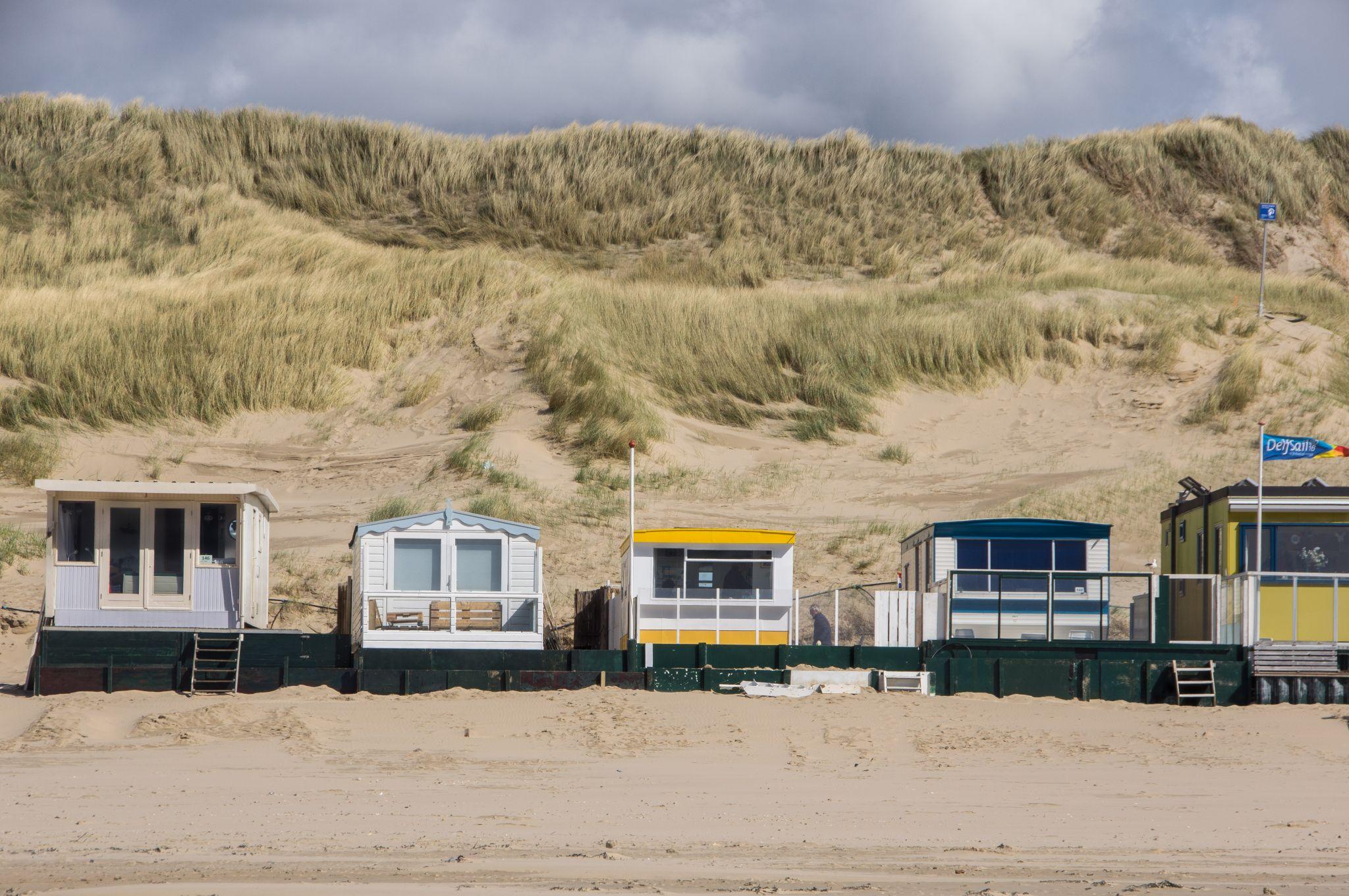 Beach huts, Egmond aan Zee, Netherlands