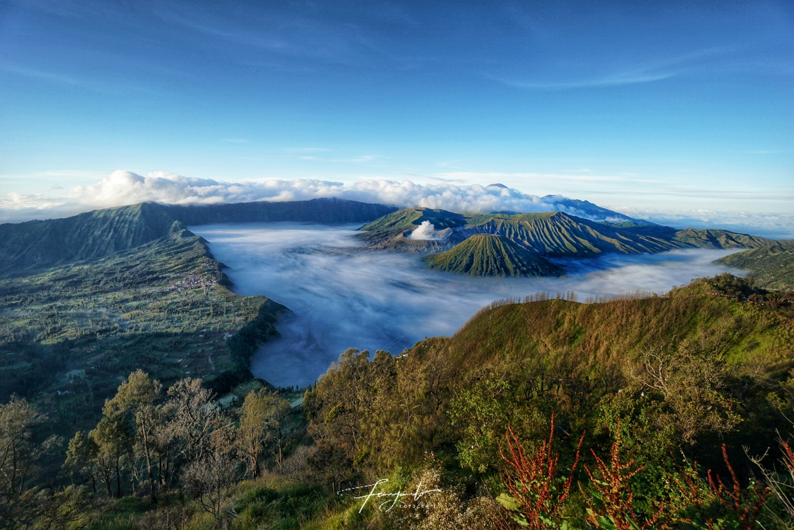 Bromo View form 'Penanjakan satu' Hill, Indonesia