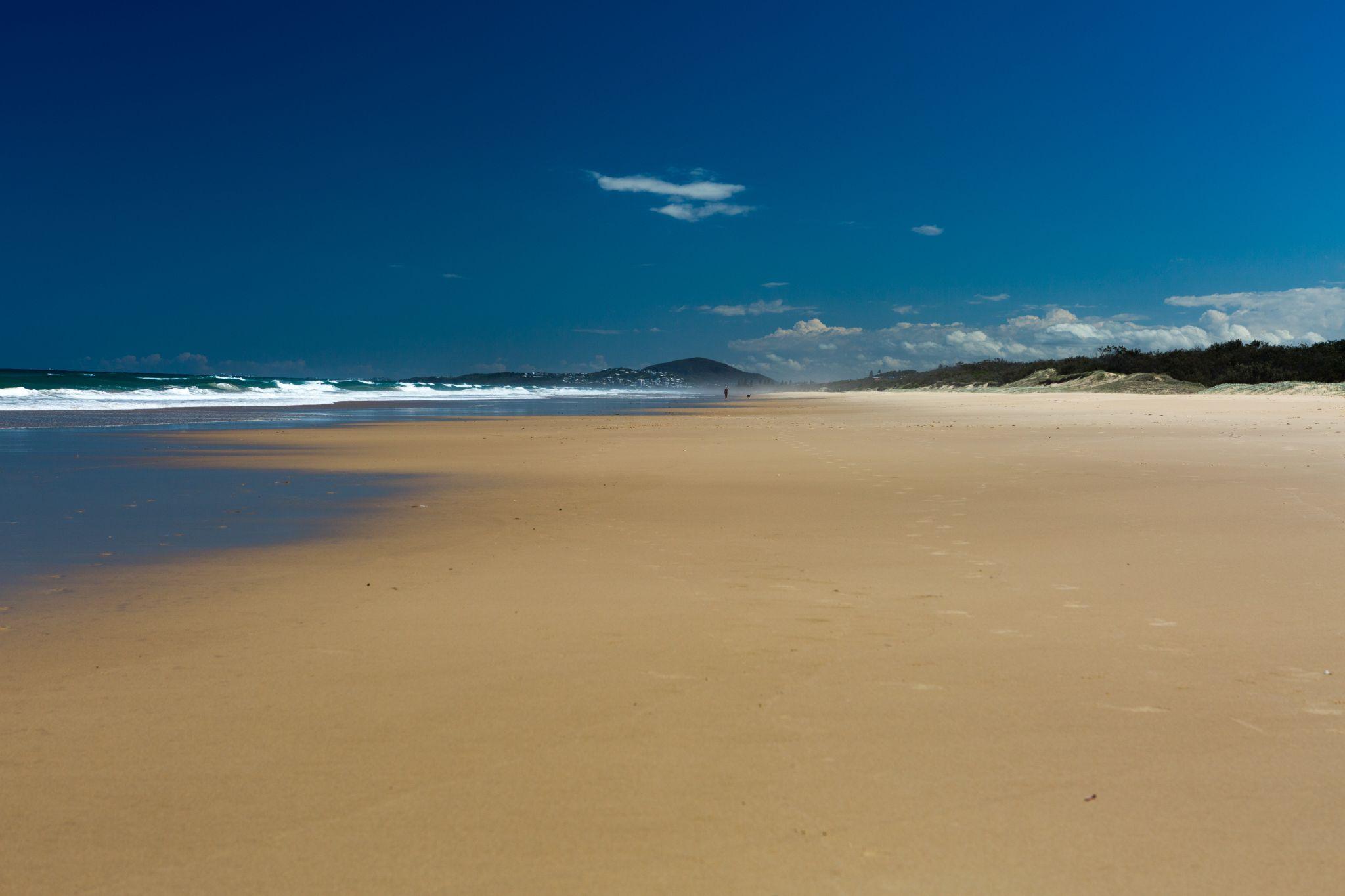 Castaway Beach, near Noosa National Park, Australia