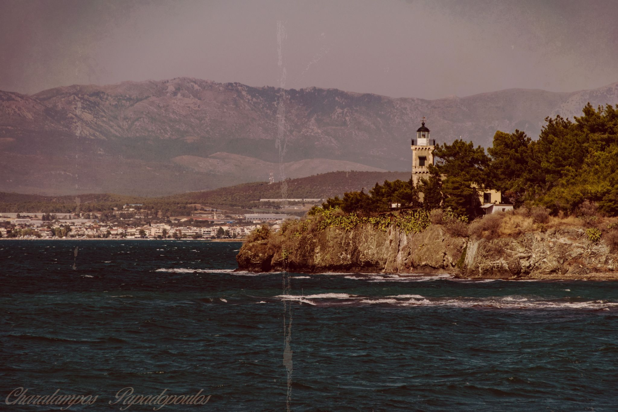 Chalkis LightHouse, Greece