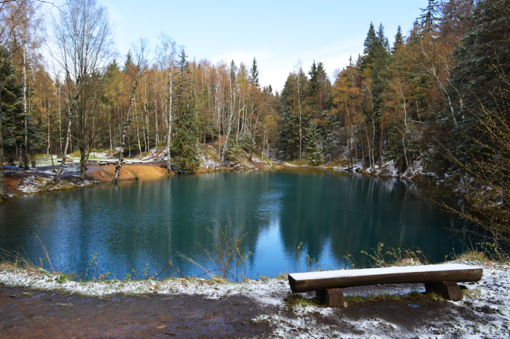 Colorful lakes (Kolorowe jeziorka), Turquoise lake, Poland