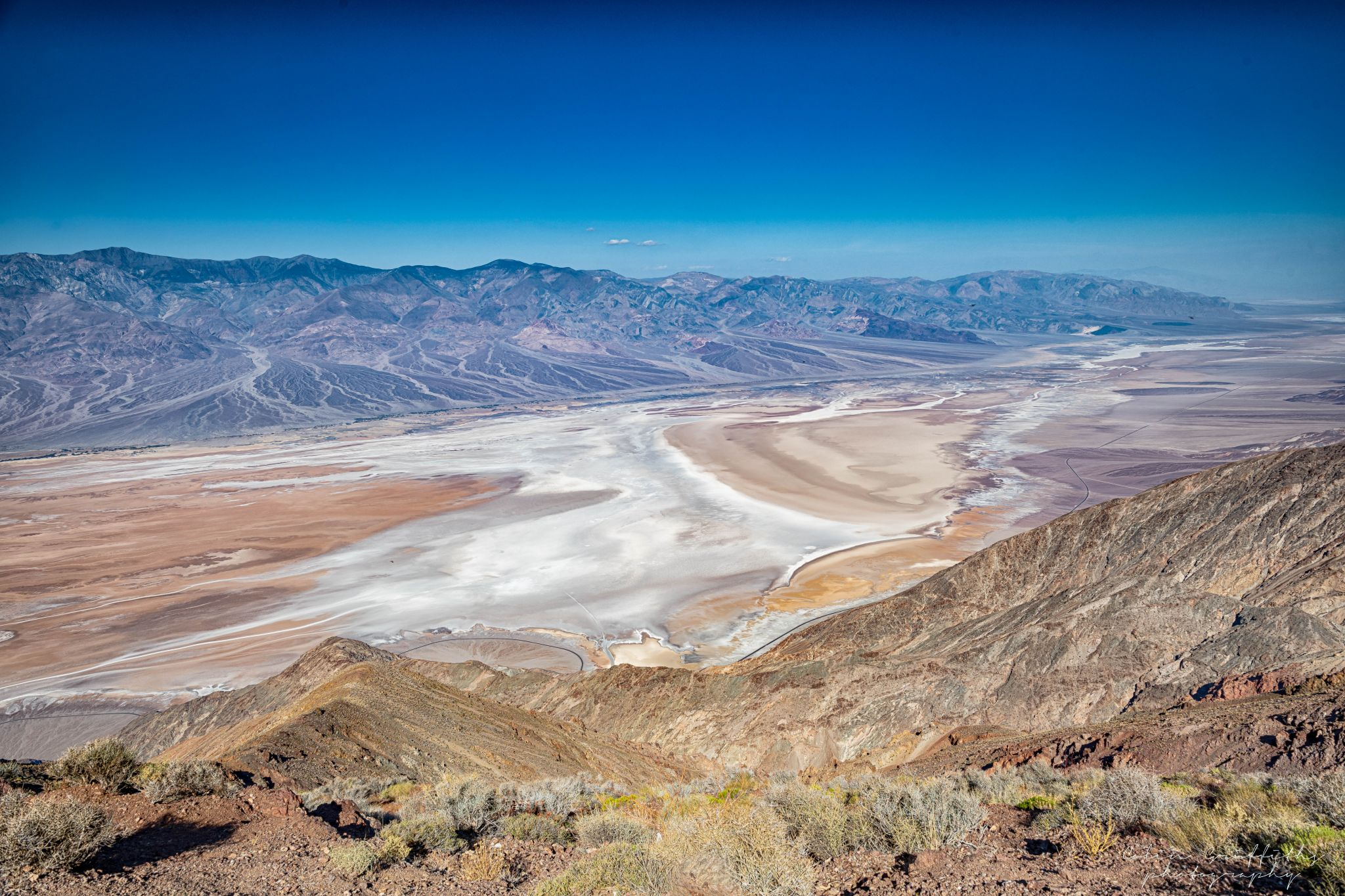 Death Valley view, USA