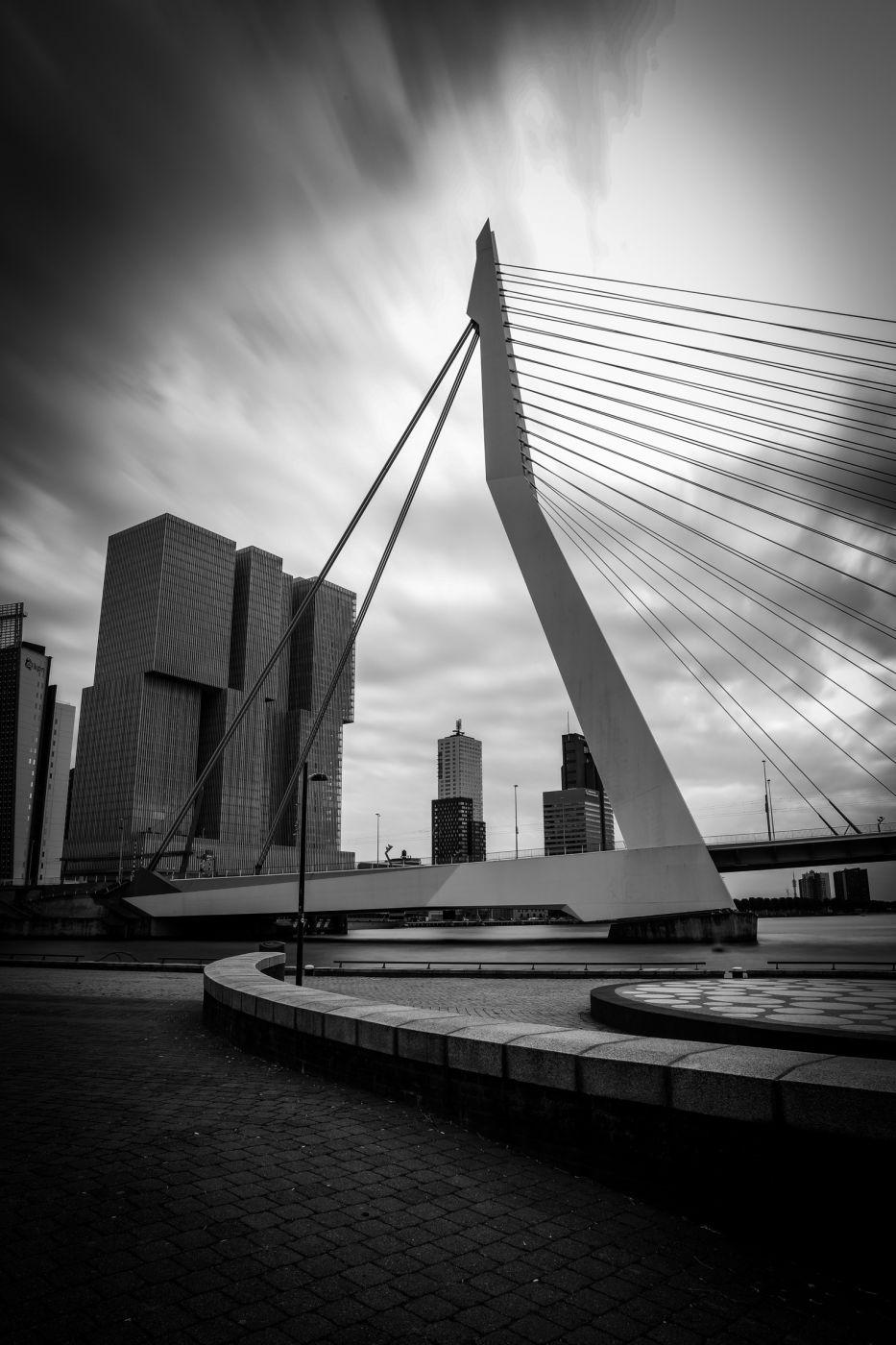Erasmusbrücke, Netherlands