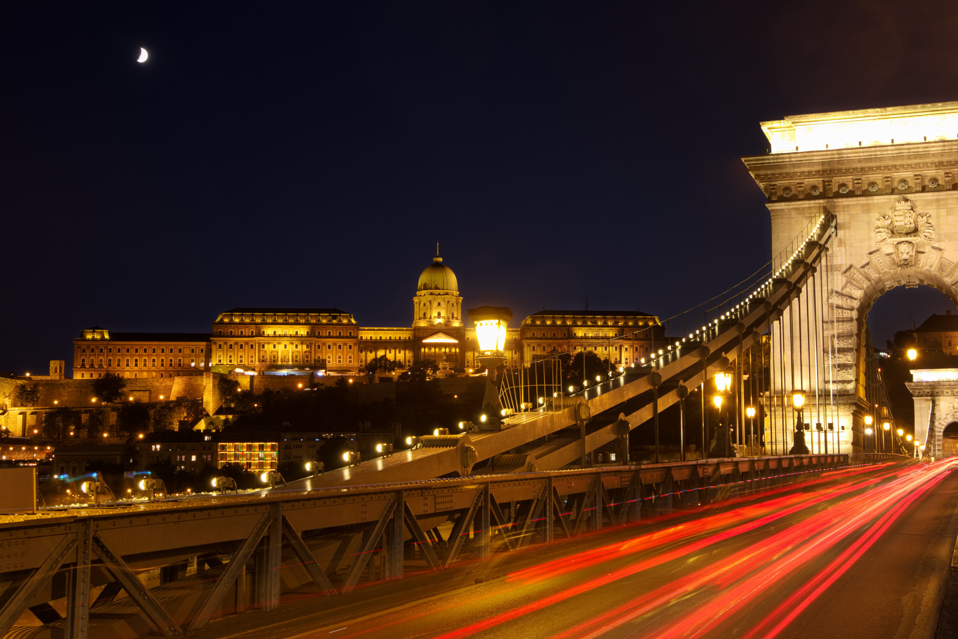 Evening  in  the town, Hungary