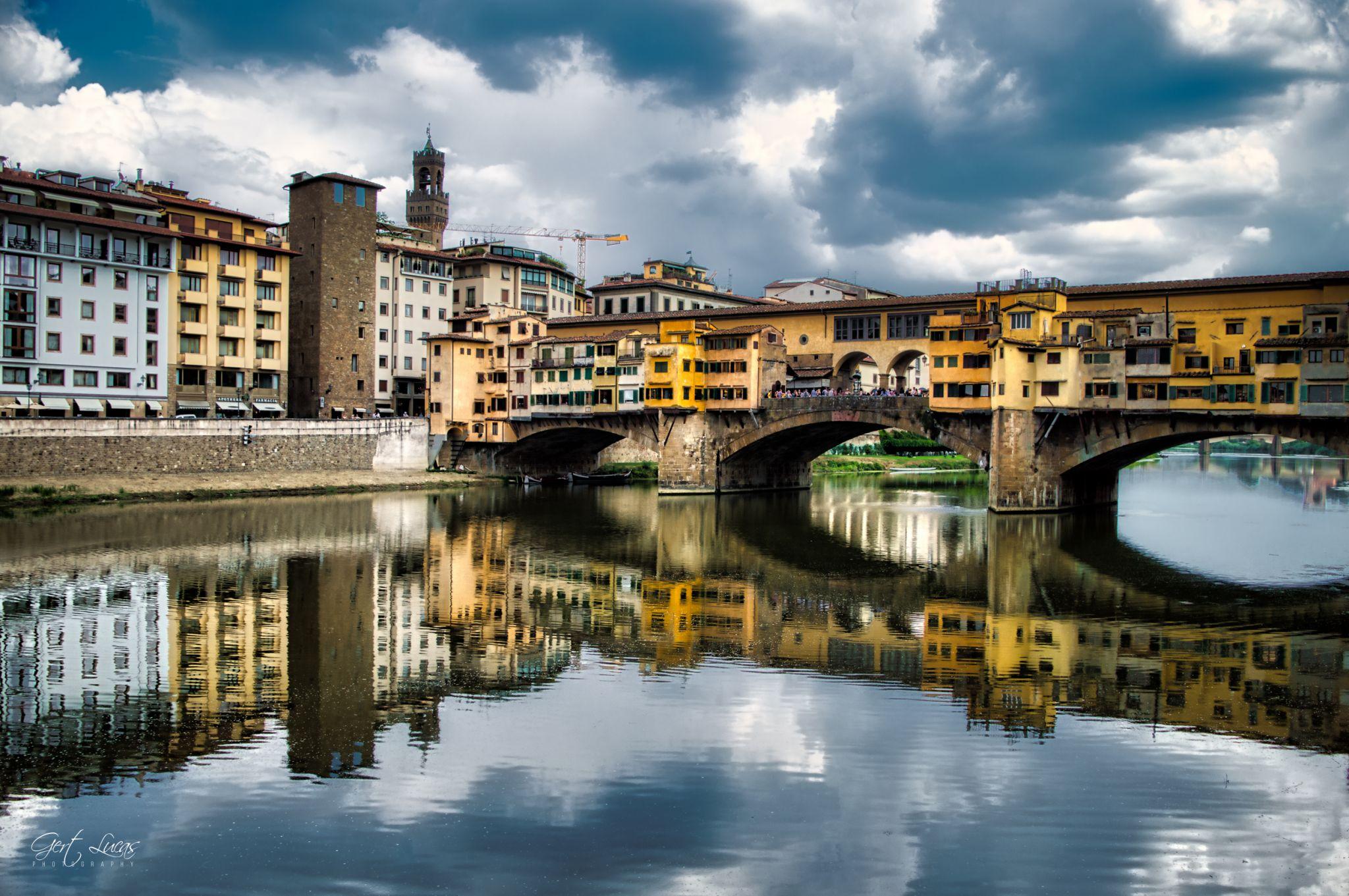 Firenze - Arnoriver - From Hotel Lugarno, Italy