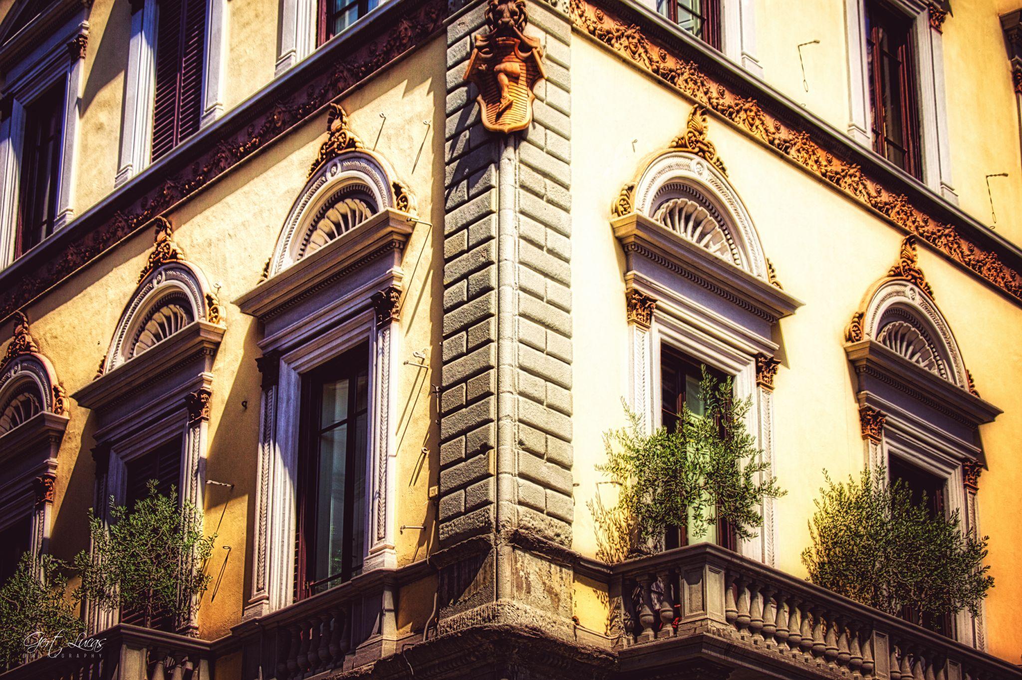 Firenze - townfacade, Italy