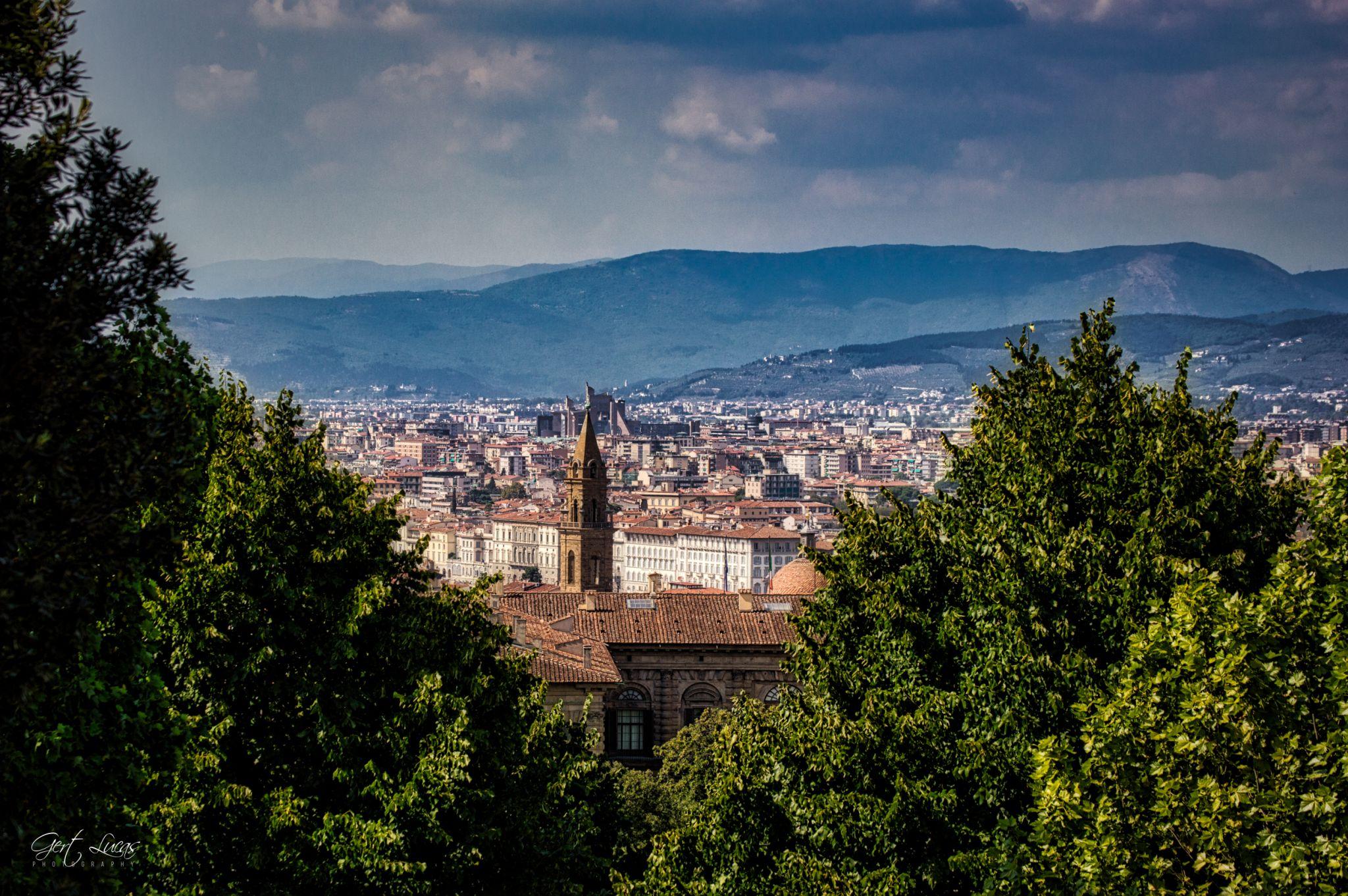 Giardino Di Boboli - Florence Rooftops, Italy