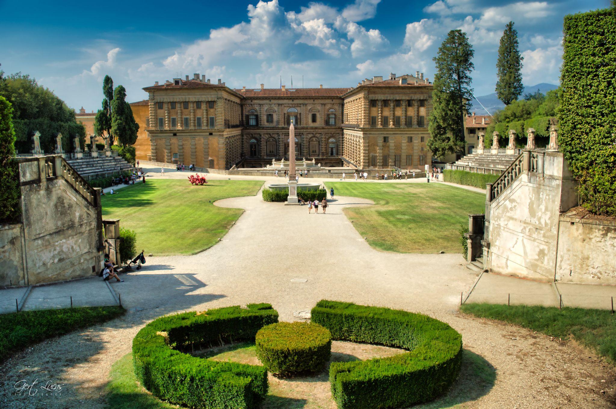 Giardino Di Boboli - Palazzo Pitti, Italy