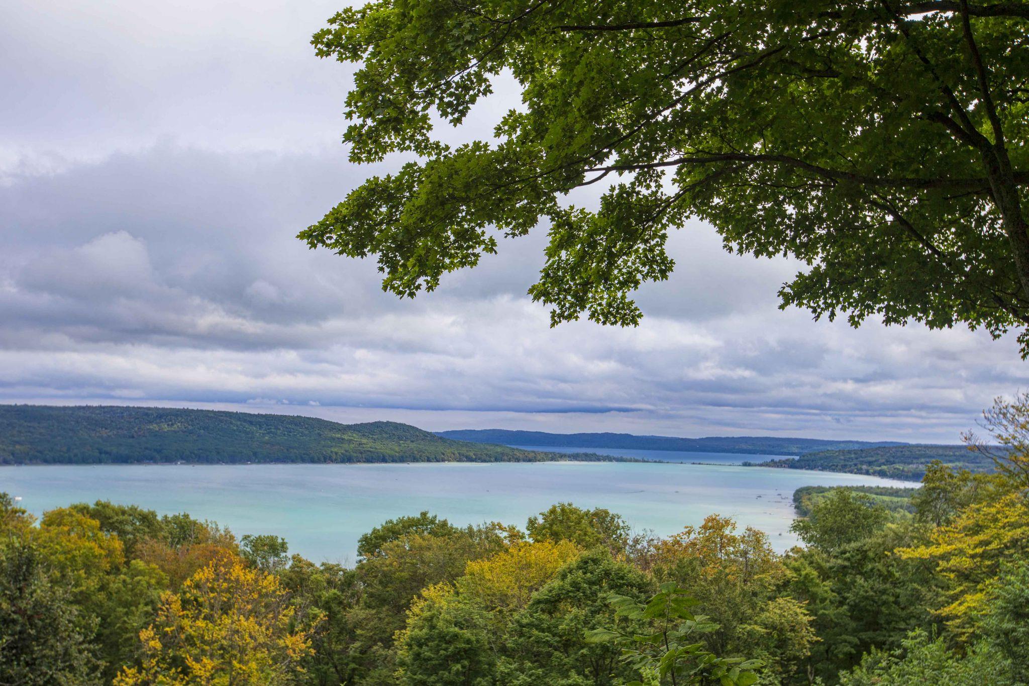 Glen Lake Overlook, USA