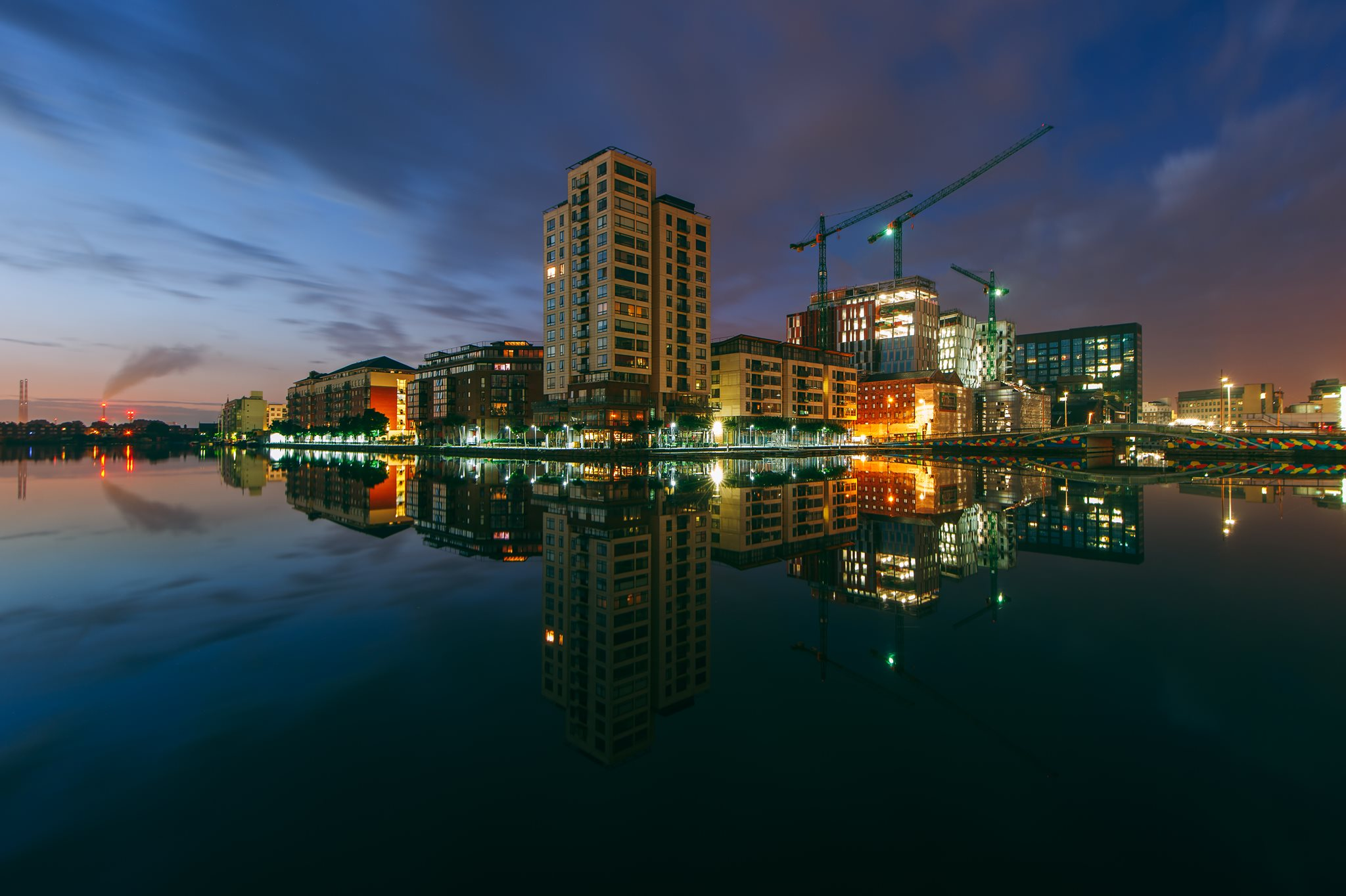 Grand Canal, Dublin, Ireland