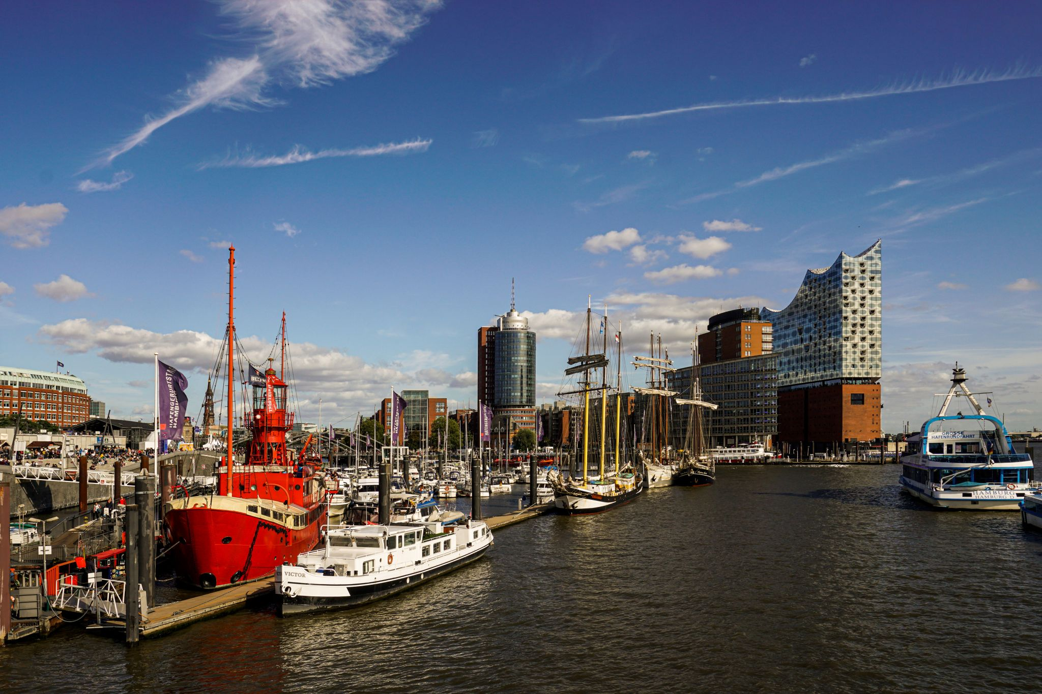 Hamburg City Sporthafen, Germany