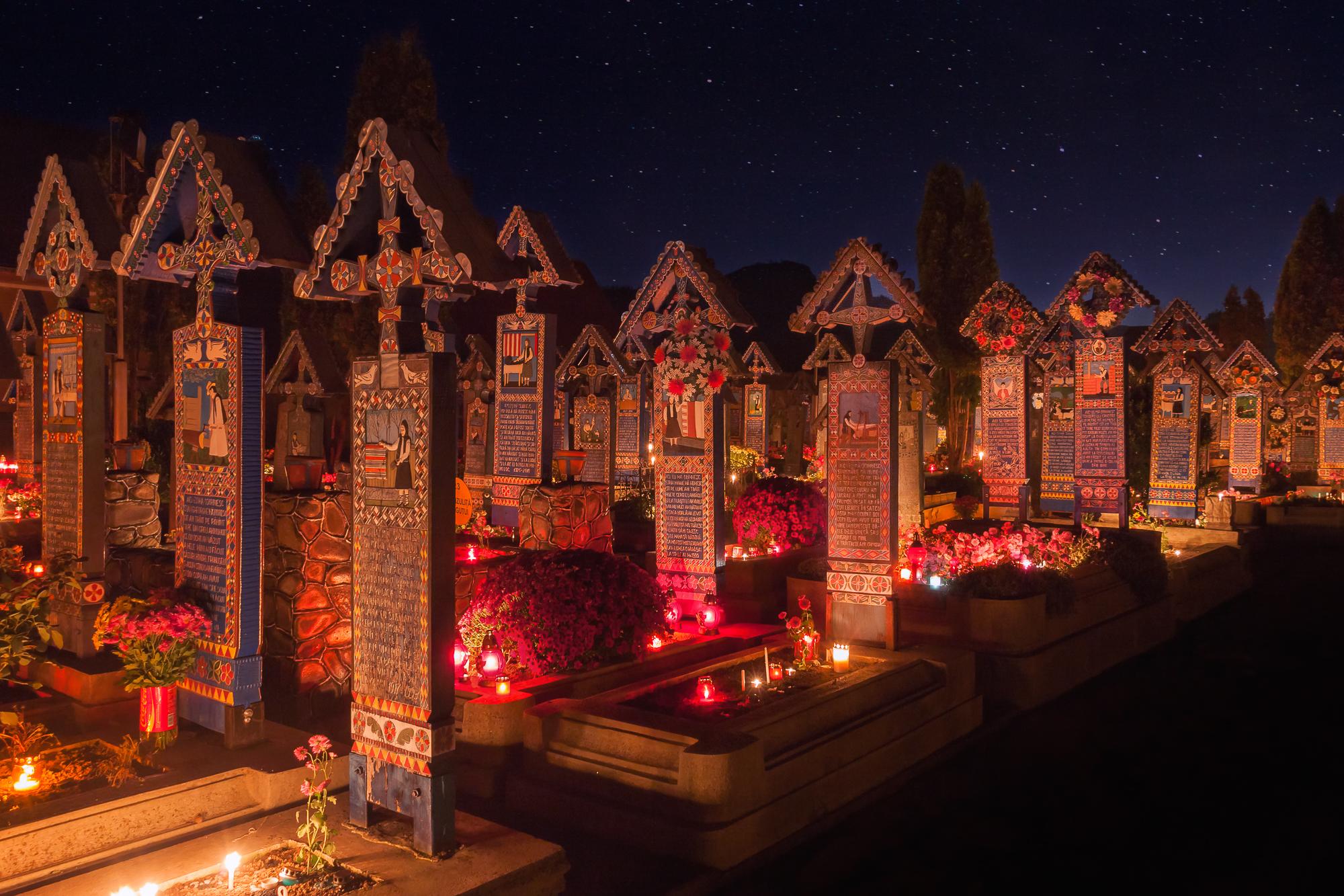 Happy graveyard, Romania