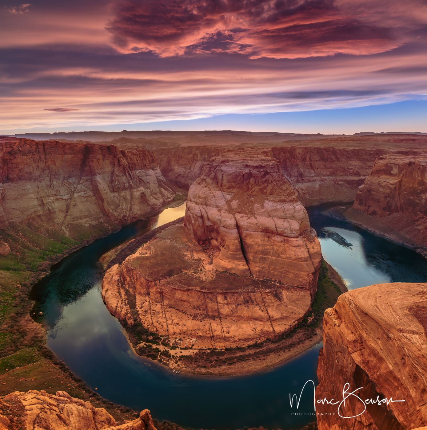 Horseshoe Bend, Page AZ, USA