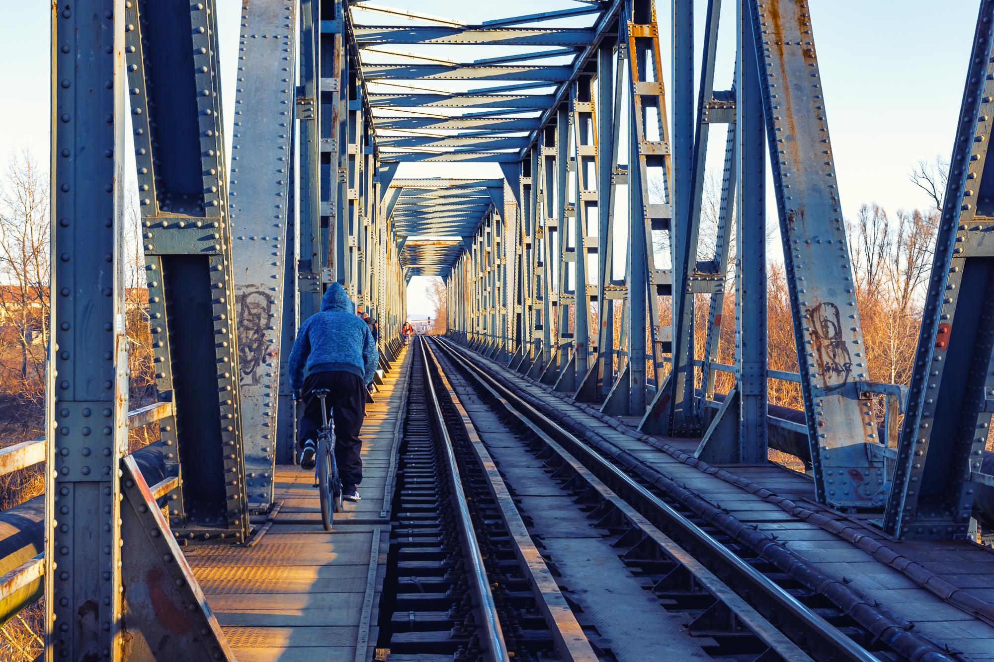 Iron Bridge, Romania