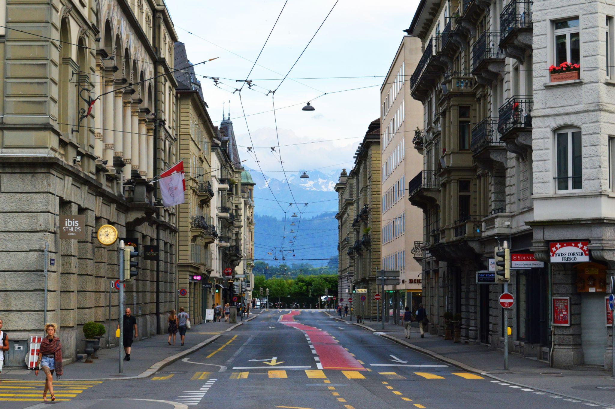 Lucerne city view, Switzerland