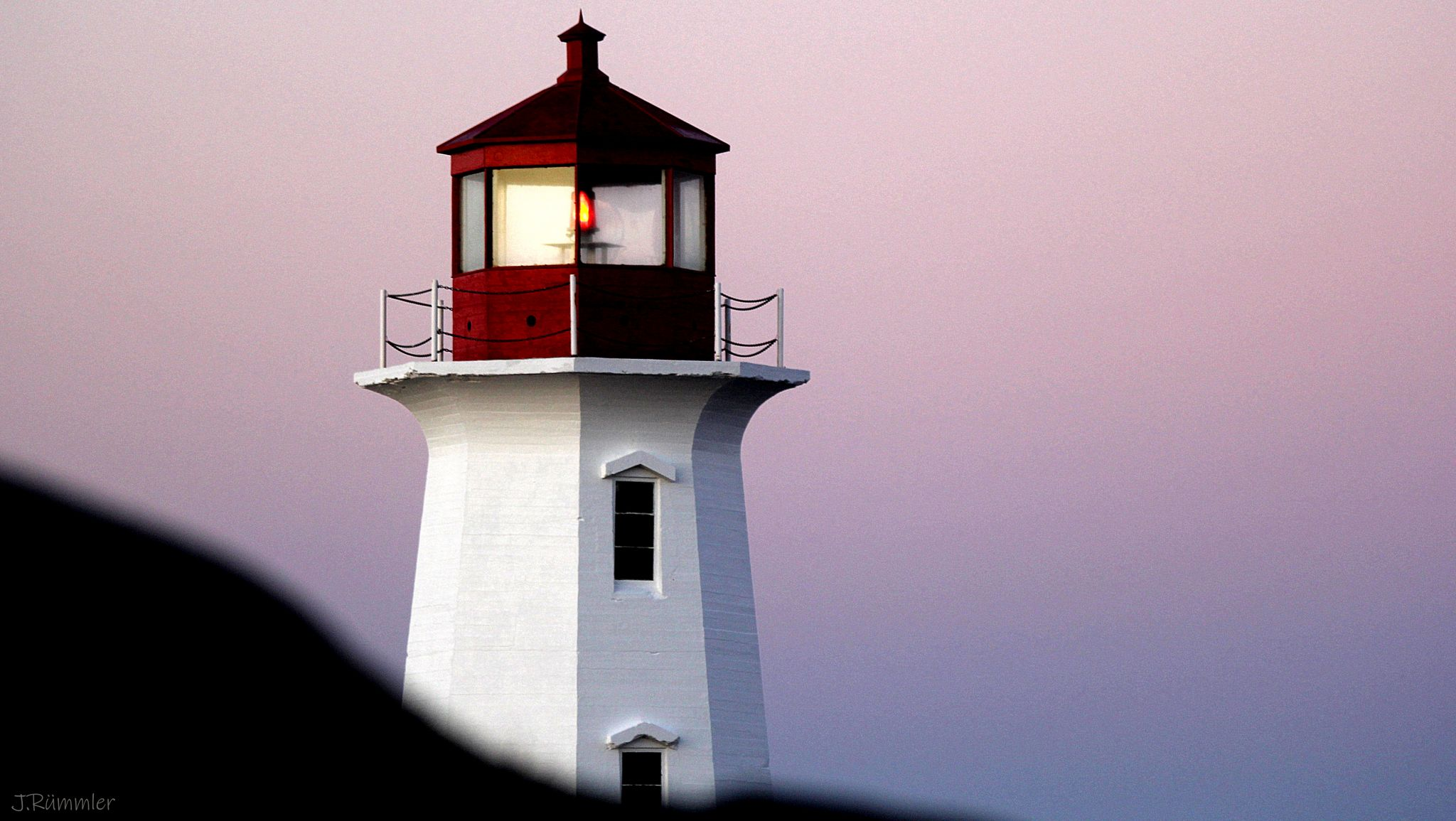Lighthouse at Peggys Cove, Nova Scotia, Canada
