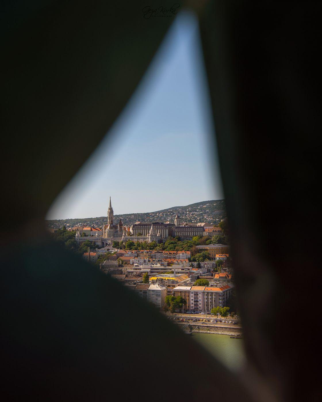 Parliament buildning's cupola, Hungary
