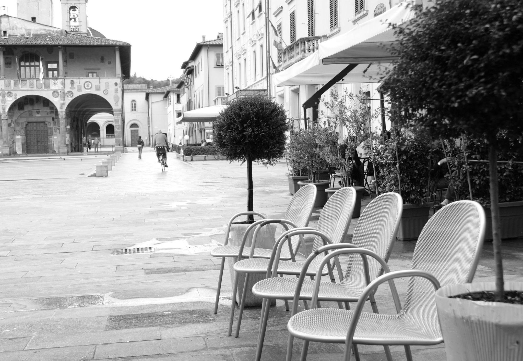 Piazza Cavour, San Giovanni Valdarno, Italy