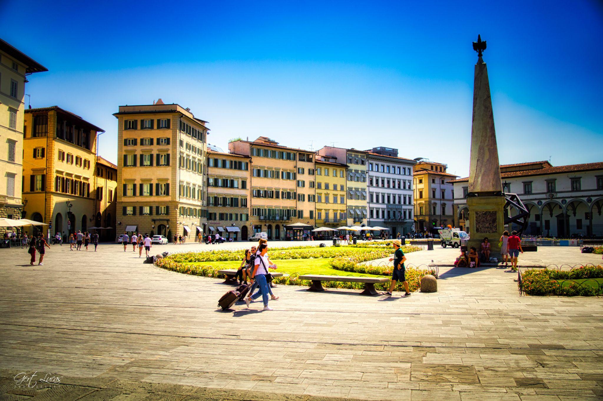 Piazza Di Santa Maria Novella, Italy