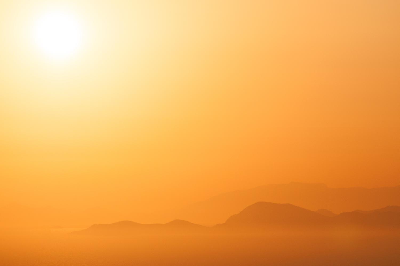 Filerimos Sunset, Greece