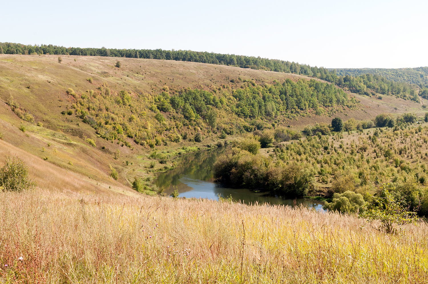 Rolling Hills of Central Russian Upland, Russian Federation