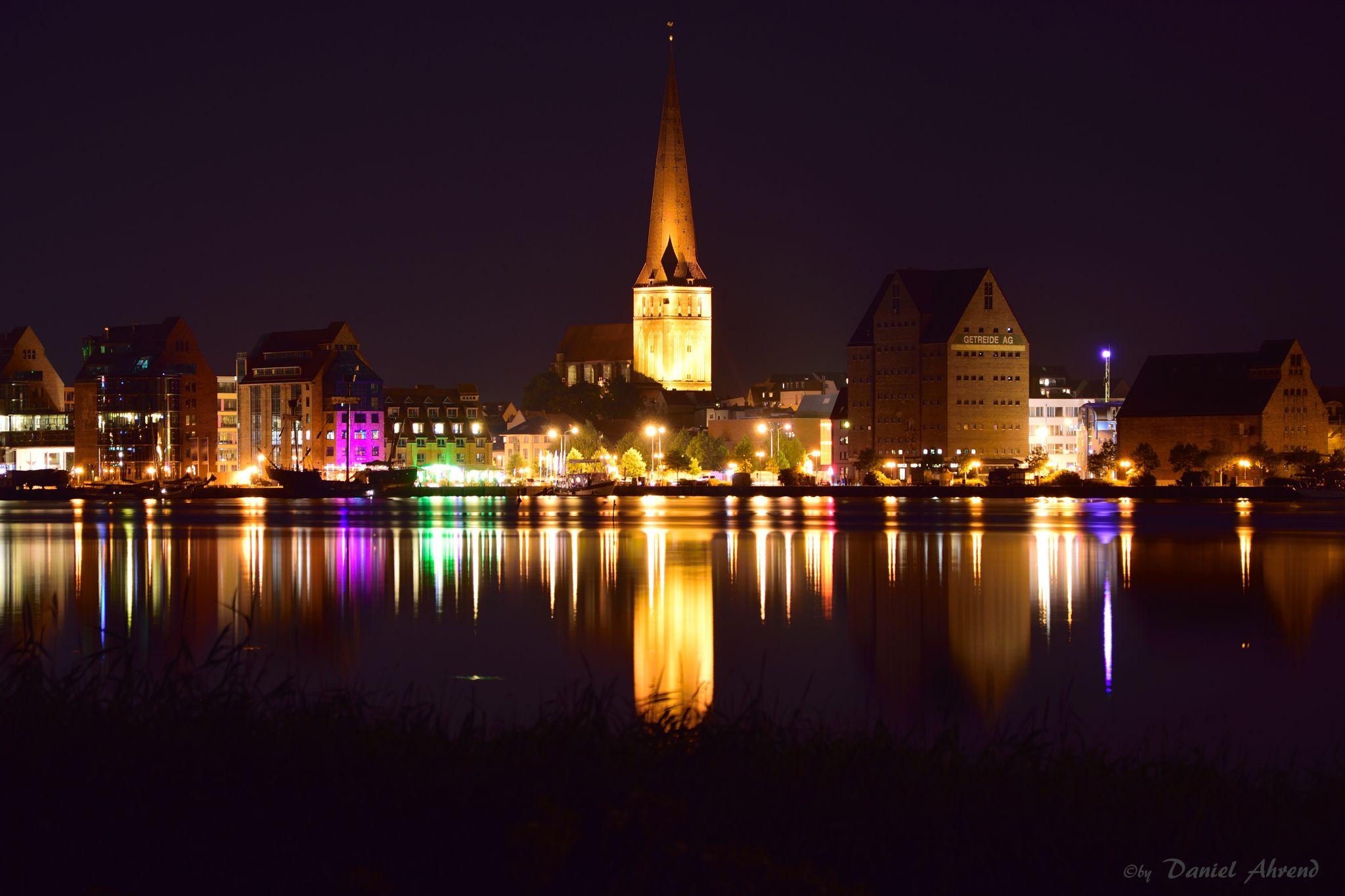 Rostock Skyline, Germany