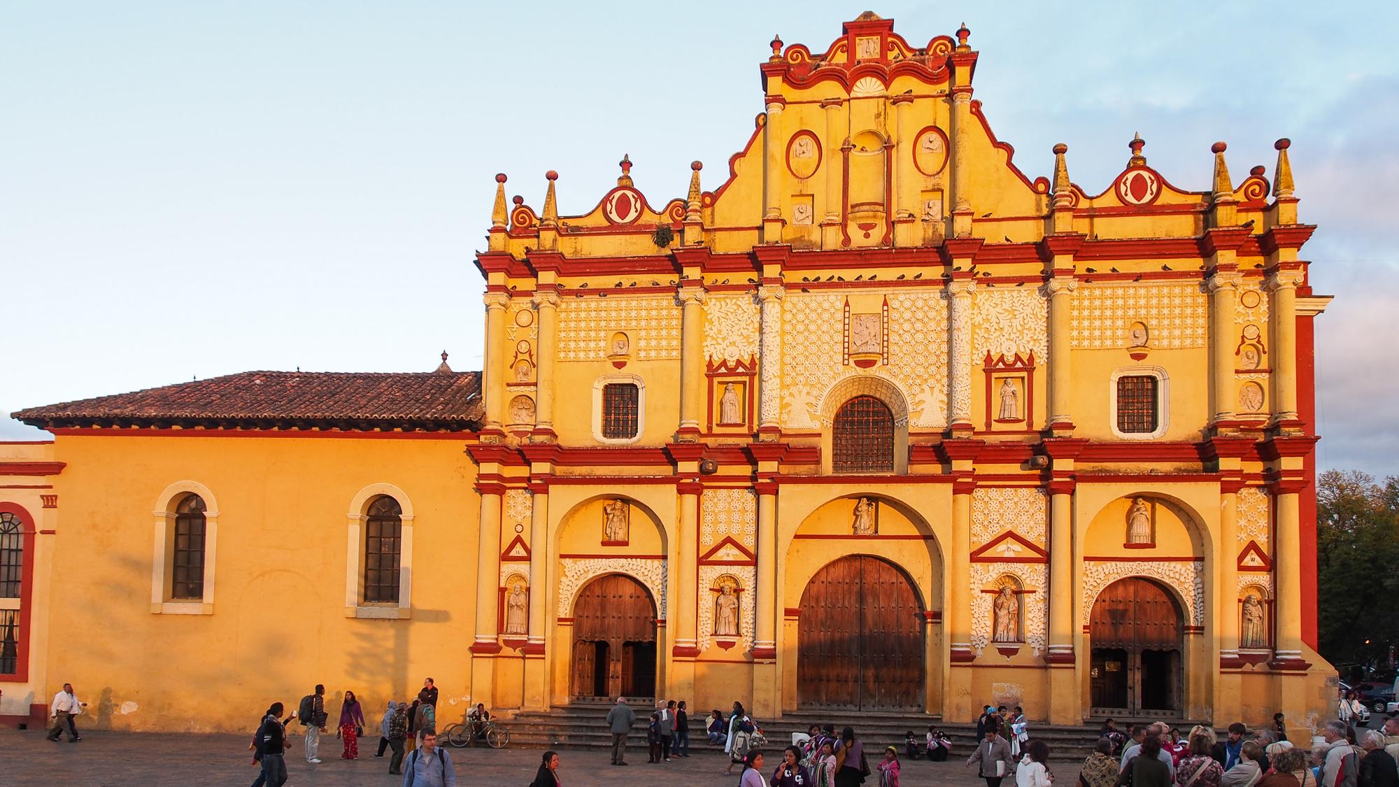 San Cristóbal de las Casas cathedral, Mexico