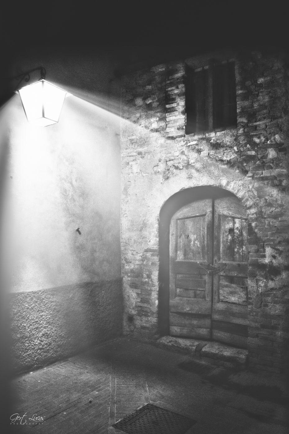 San Gimignano - Quiet corner, Italy