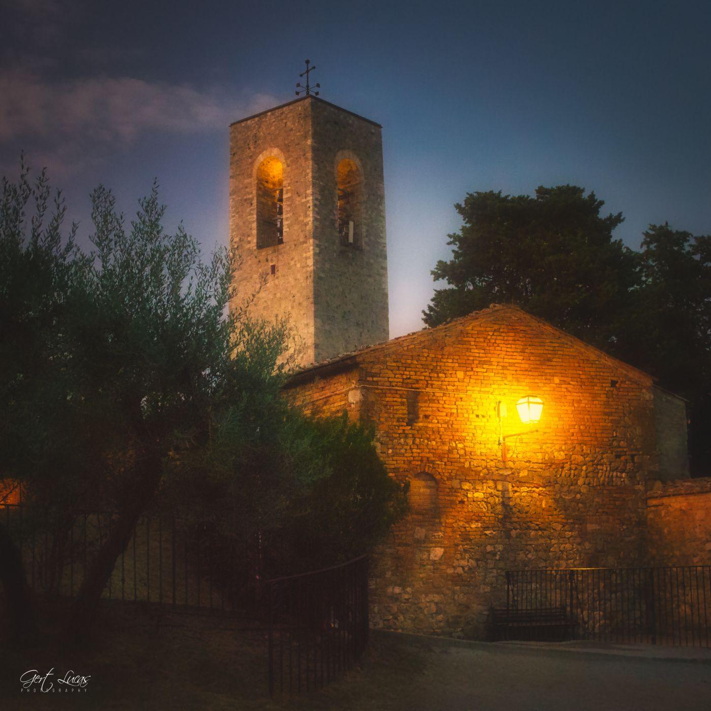 San Gimignano - Via Della Rocca, Italy