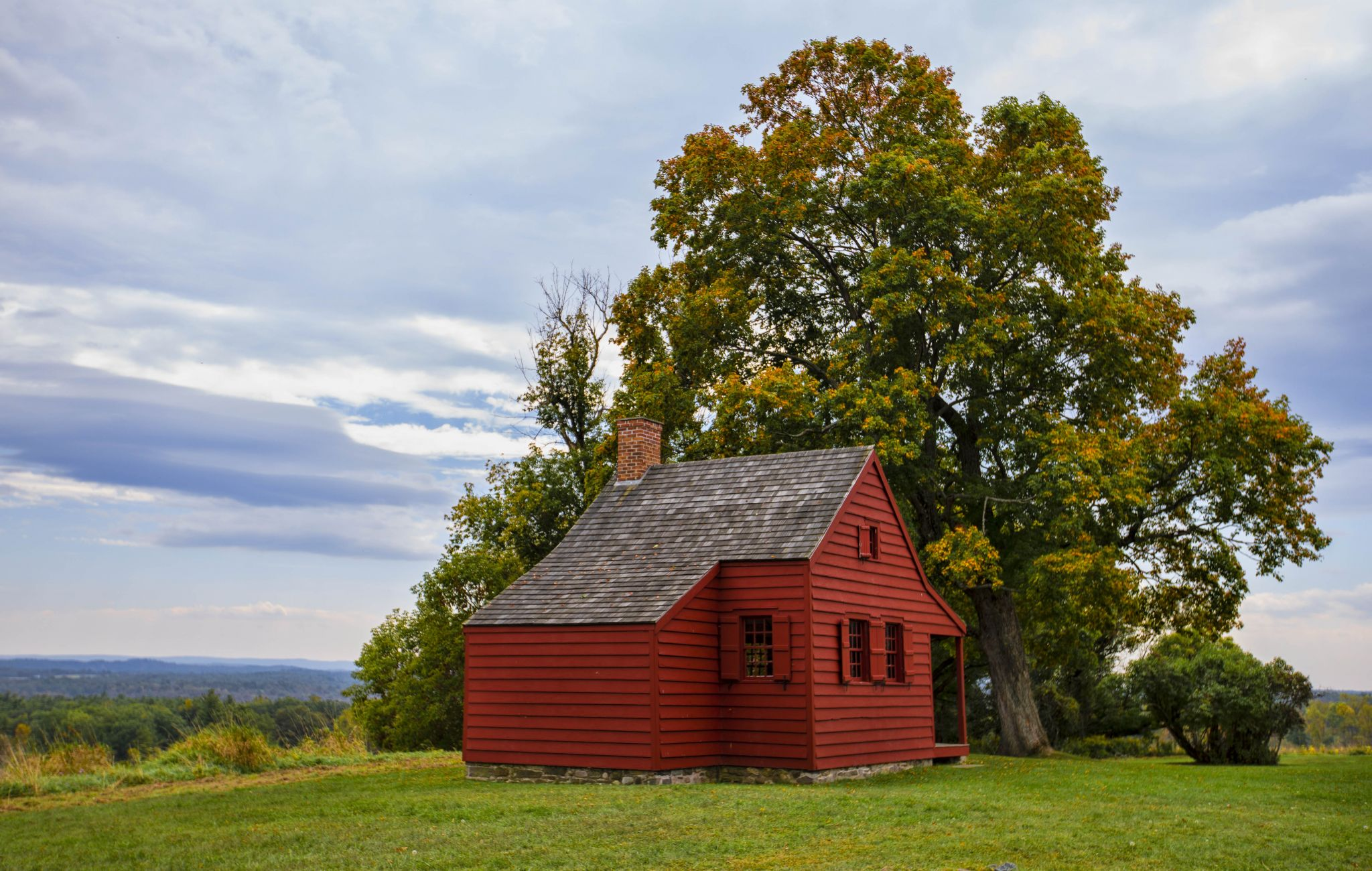 Saratoga National Historical Park: Neilson Farm, USA