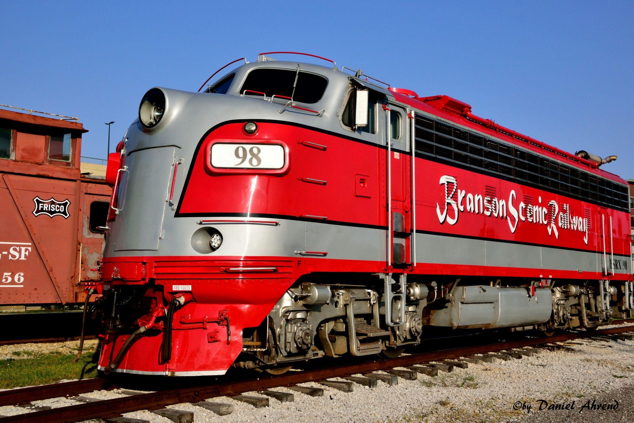 Scenic Railway Branson, Missouri, USA