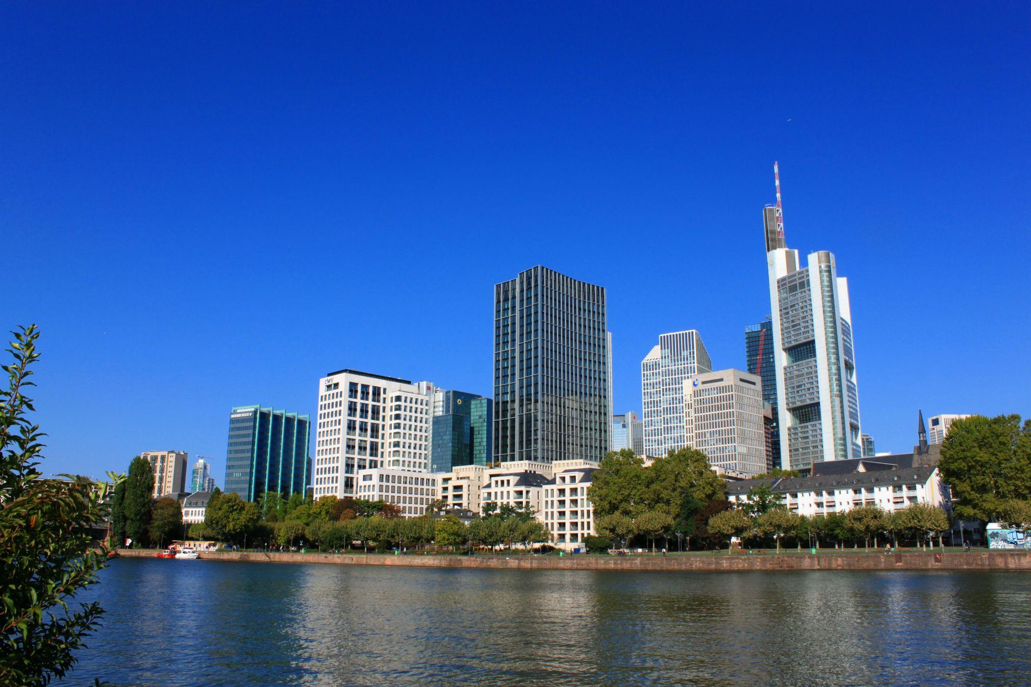 Skyline von Frankfurt am Main, Germany