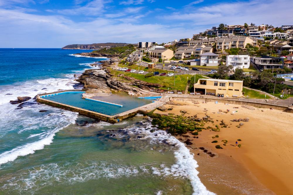South Curl Curl Ocean Pool Sydney, Australia