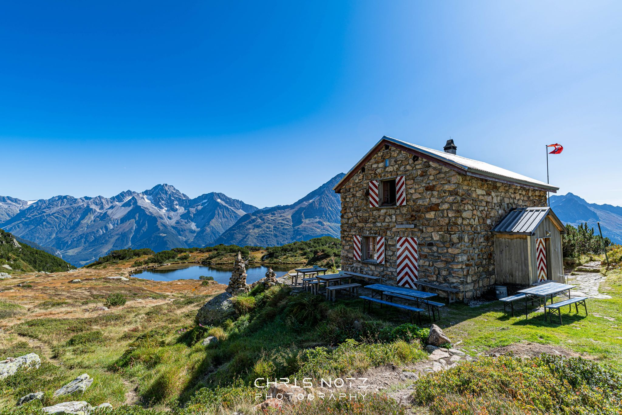 Sunniggrat-Hütte, Switzerland