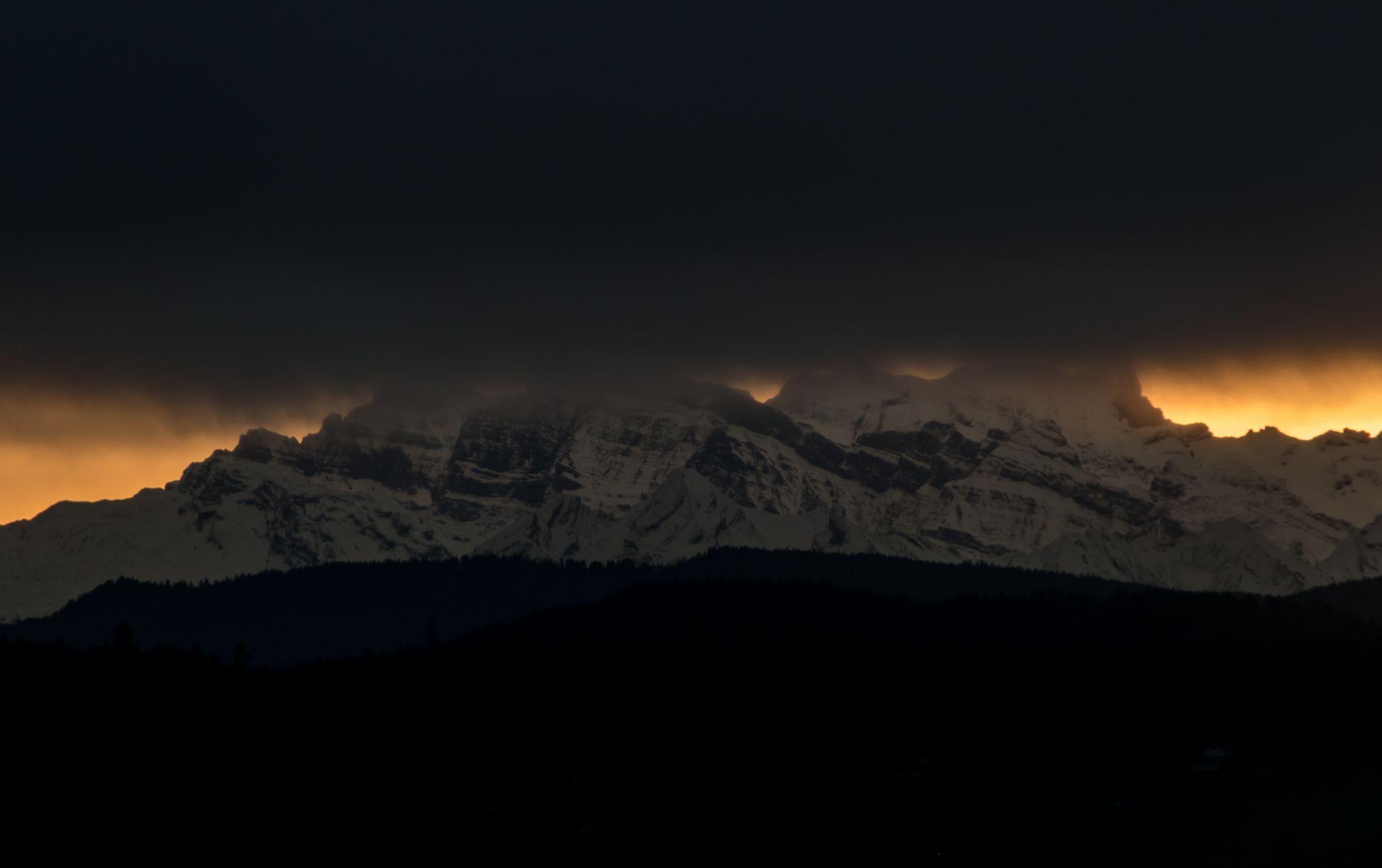 Alpstein view, Switzerland