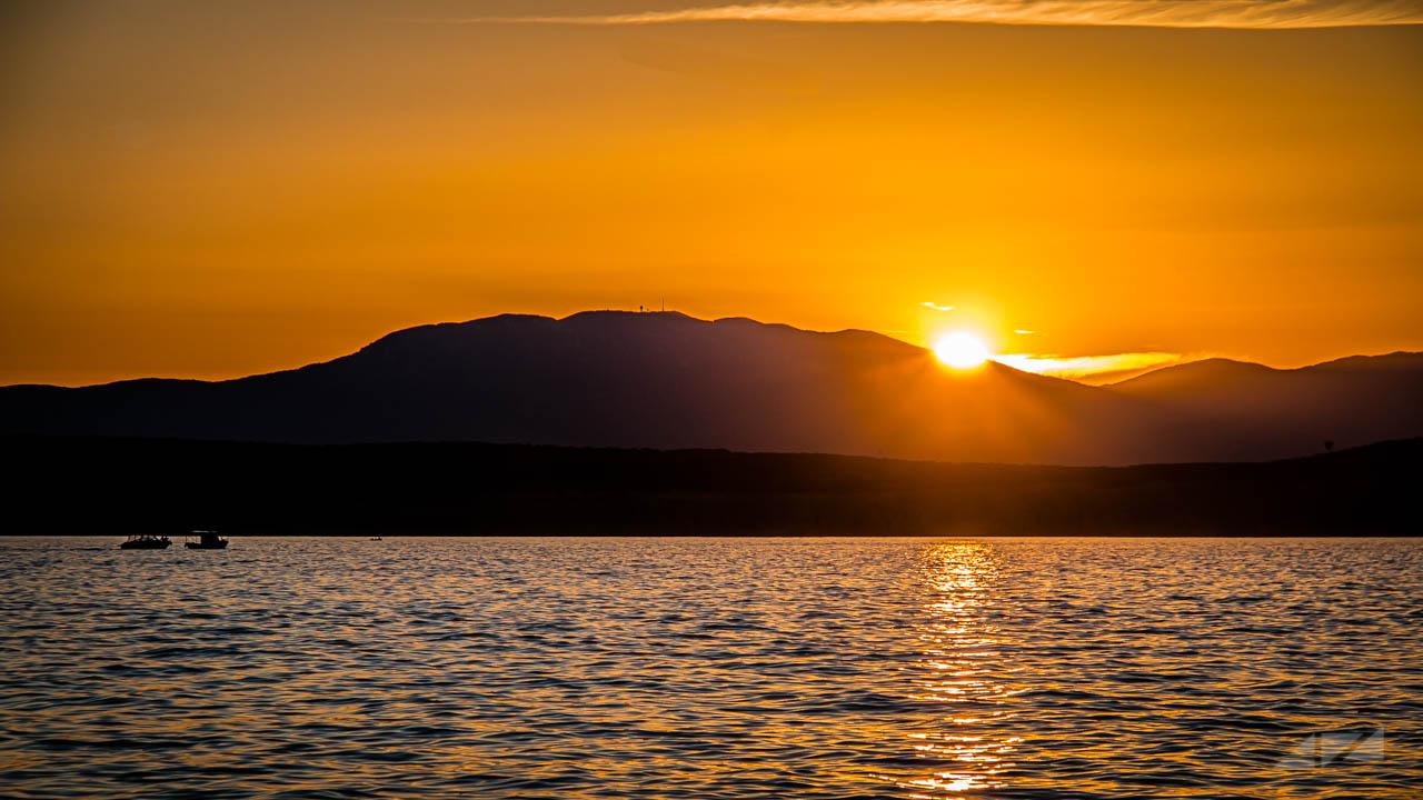 Sunset at Dramalj, Croatia