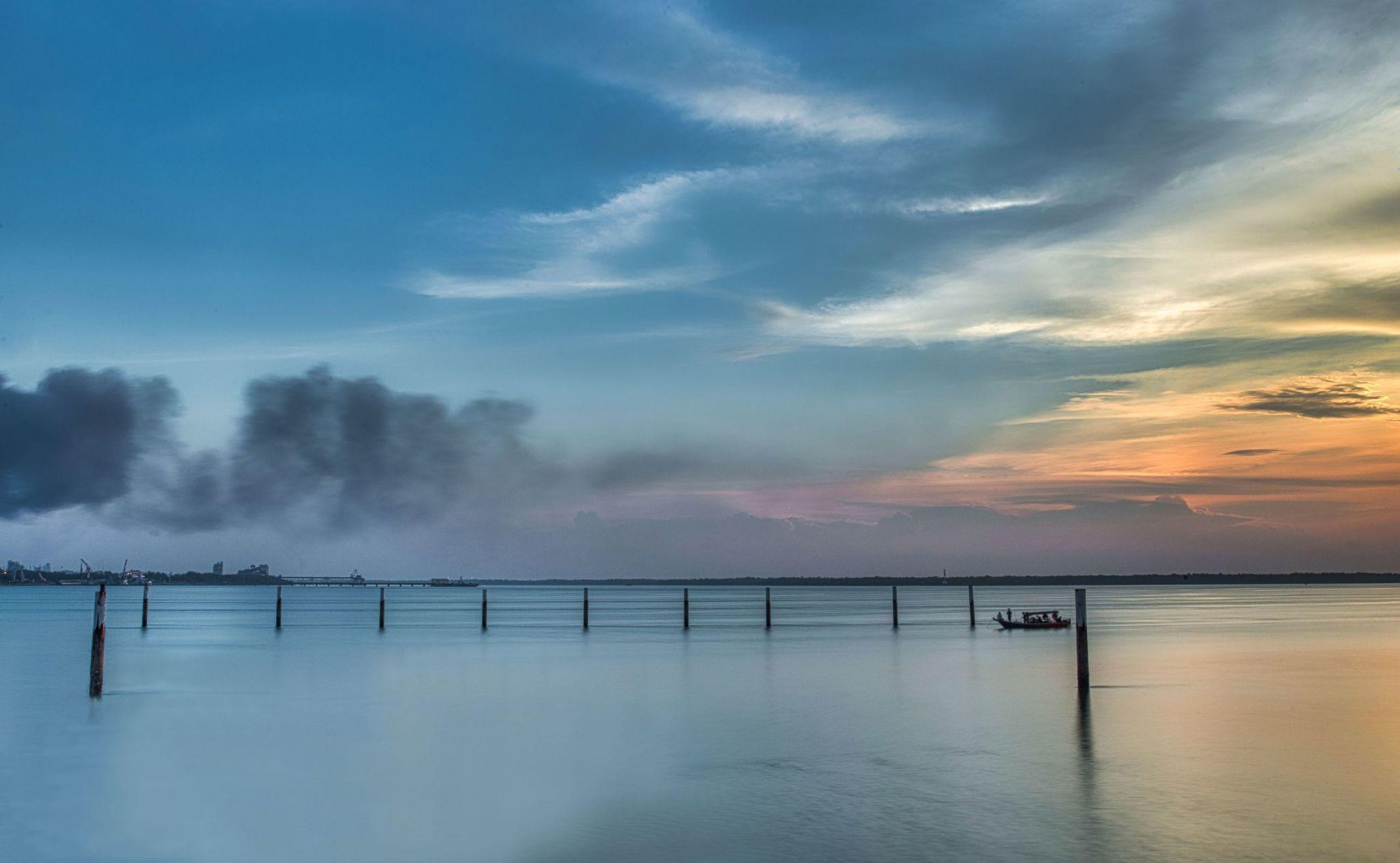 Tanjung Harapan Sunset, Malaysia