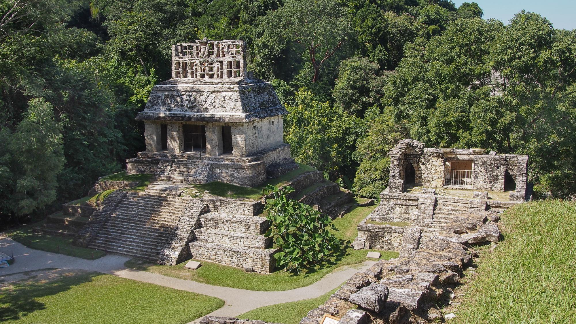 Templo del sol, Mexico